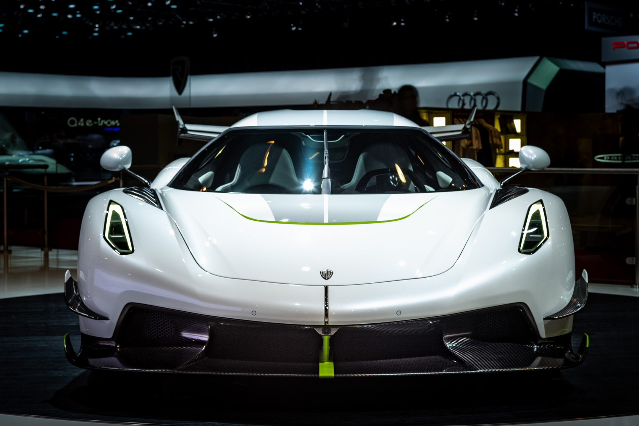 Koenigsegg Jesko - 2019 - front-face - Gims Swiss - photo by Steven Wade
