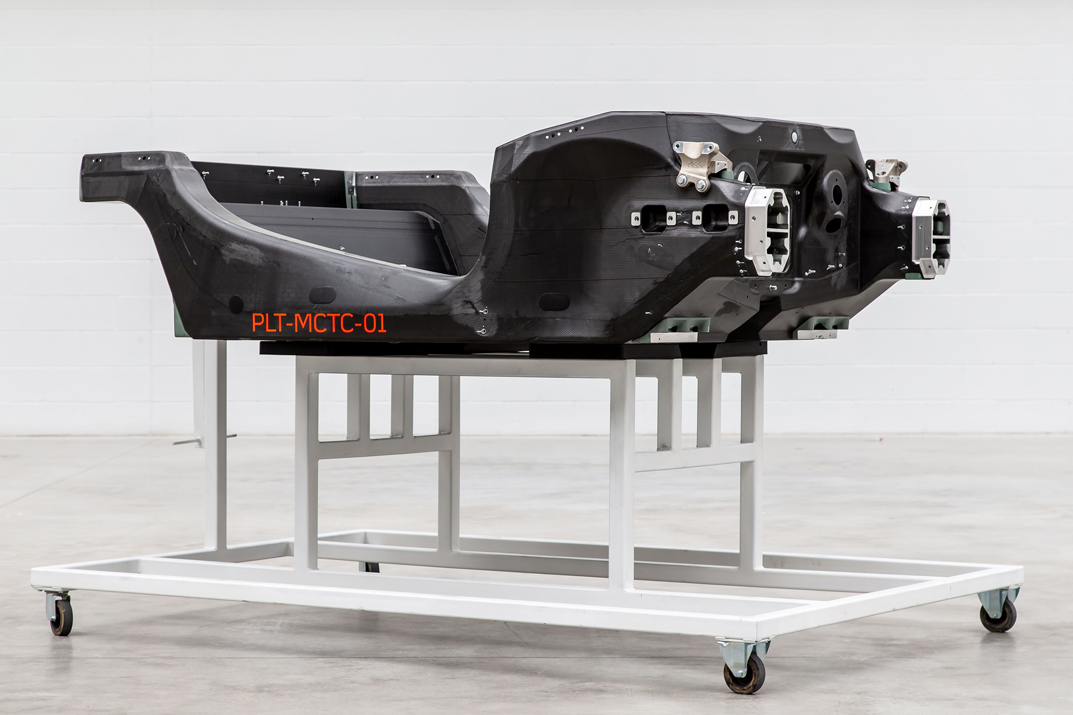 McLaren Automotive - 2019 - prototype carbon fibre chassis