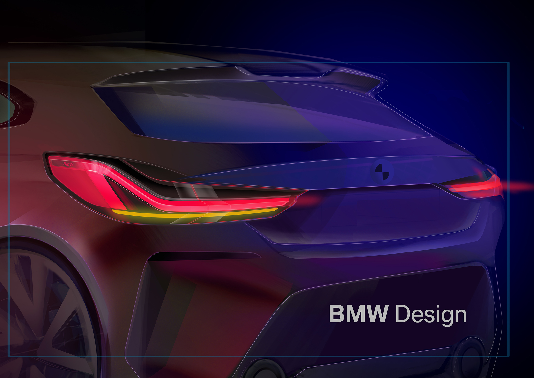 BMW 1 Series - 2019 - design sketch - rear light
