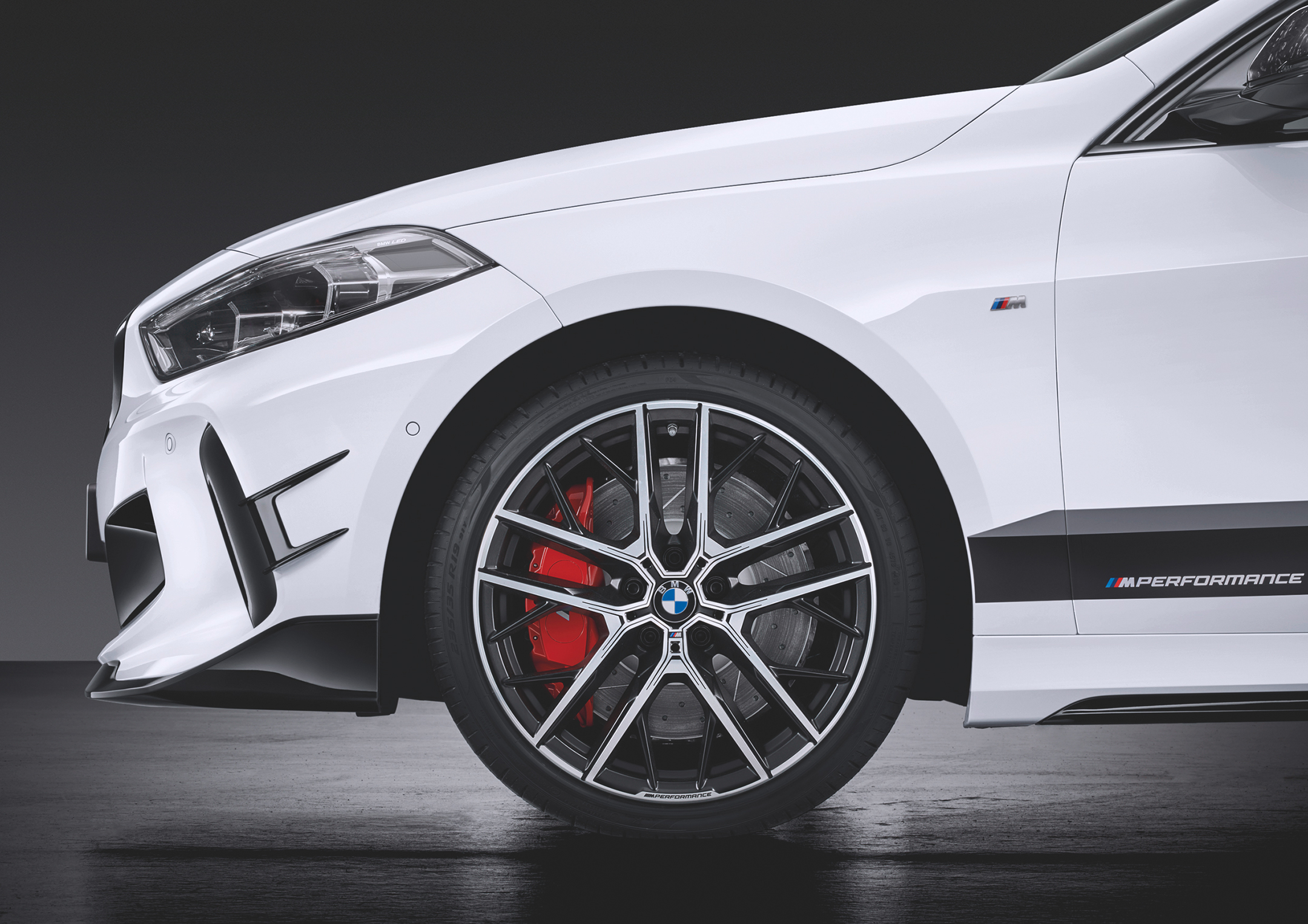 BMW 1 Series M135i xDrive M Performance Parts - 2019 - front wheel