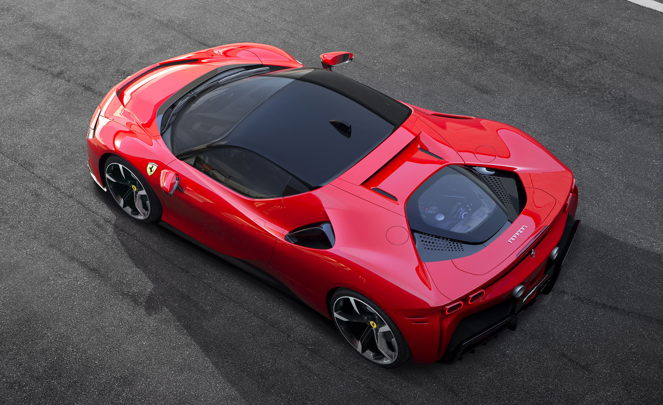 Ferrari SF90 Stradale - 2019 - top view