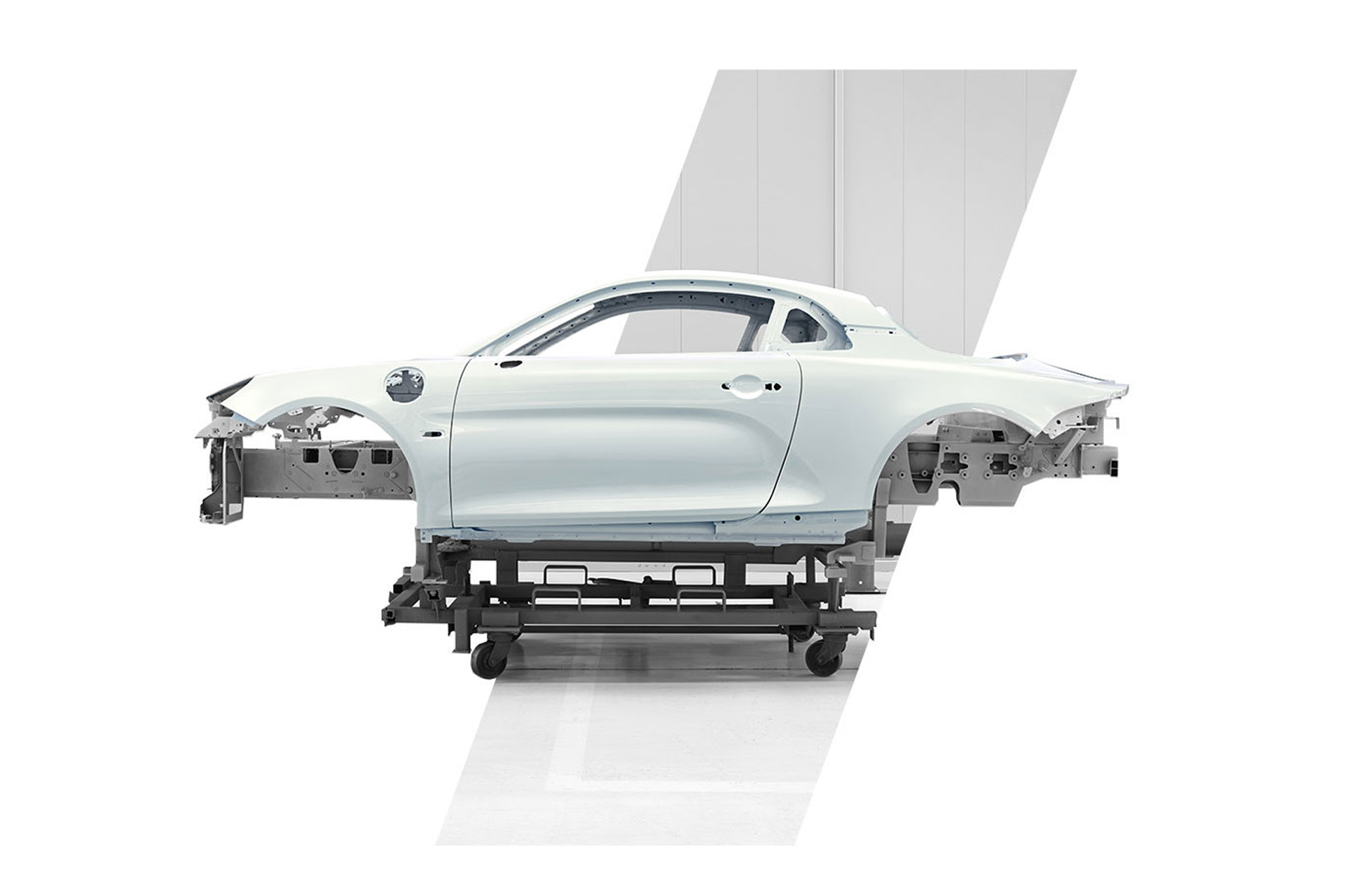 Alpine A110S - 2019 - chassis / châssis - side view