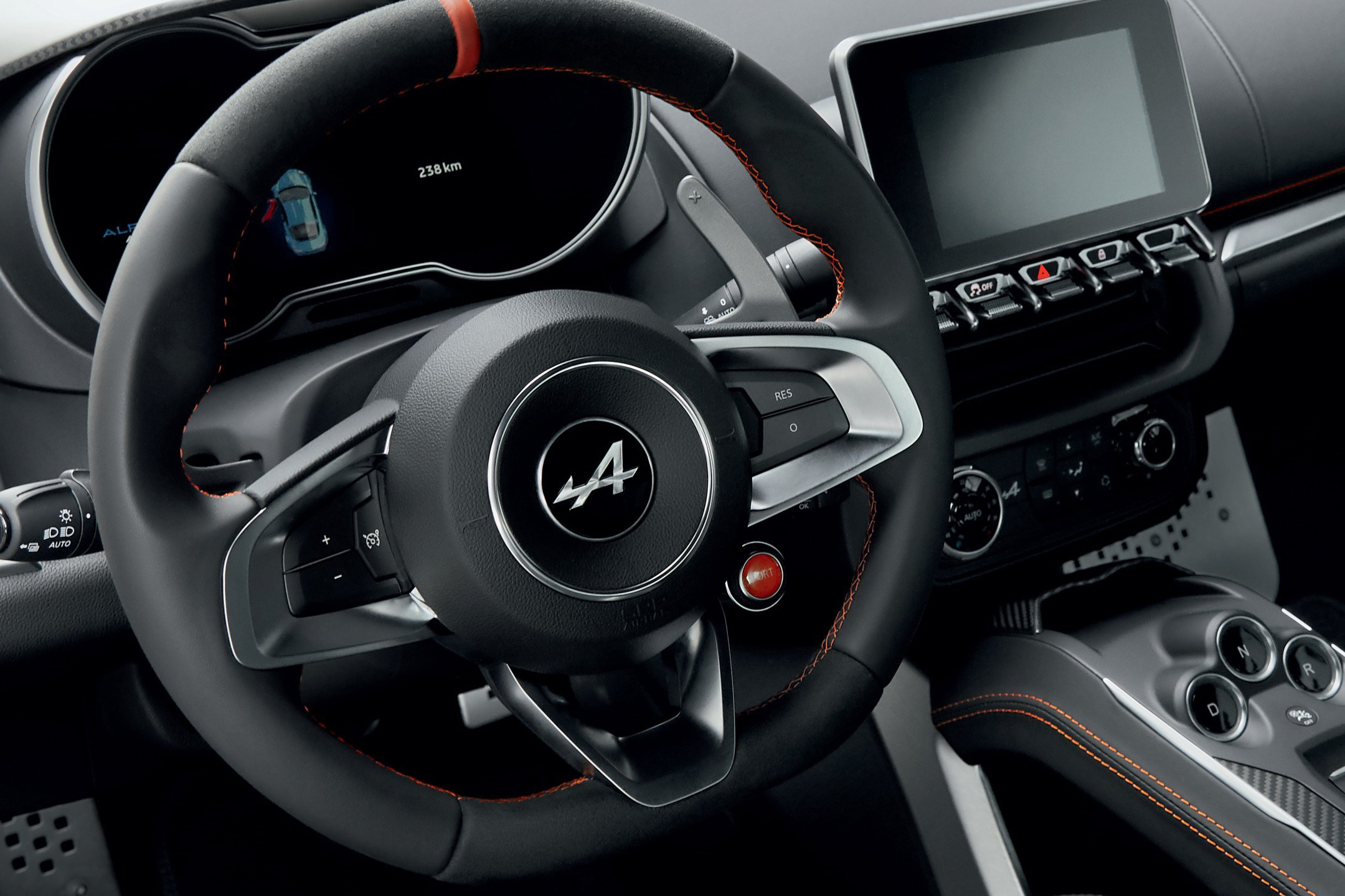 Alpine A110S - 2019 - steering wheel / volant