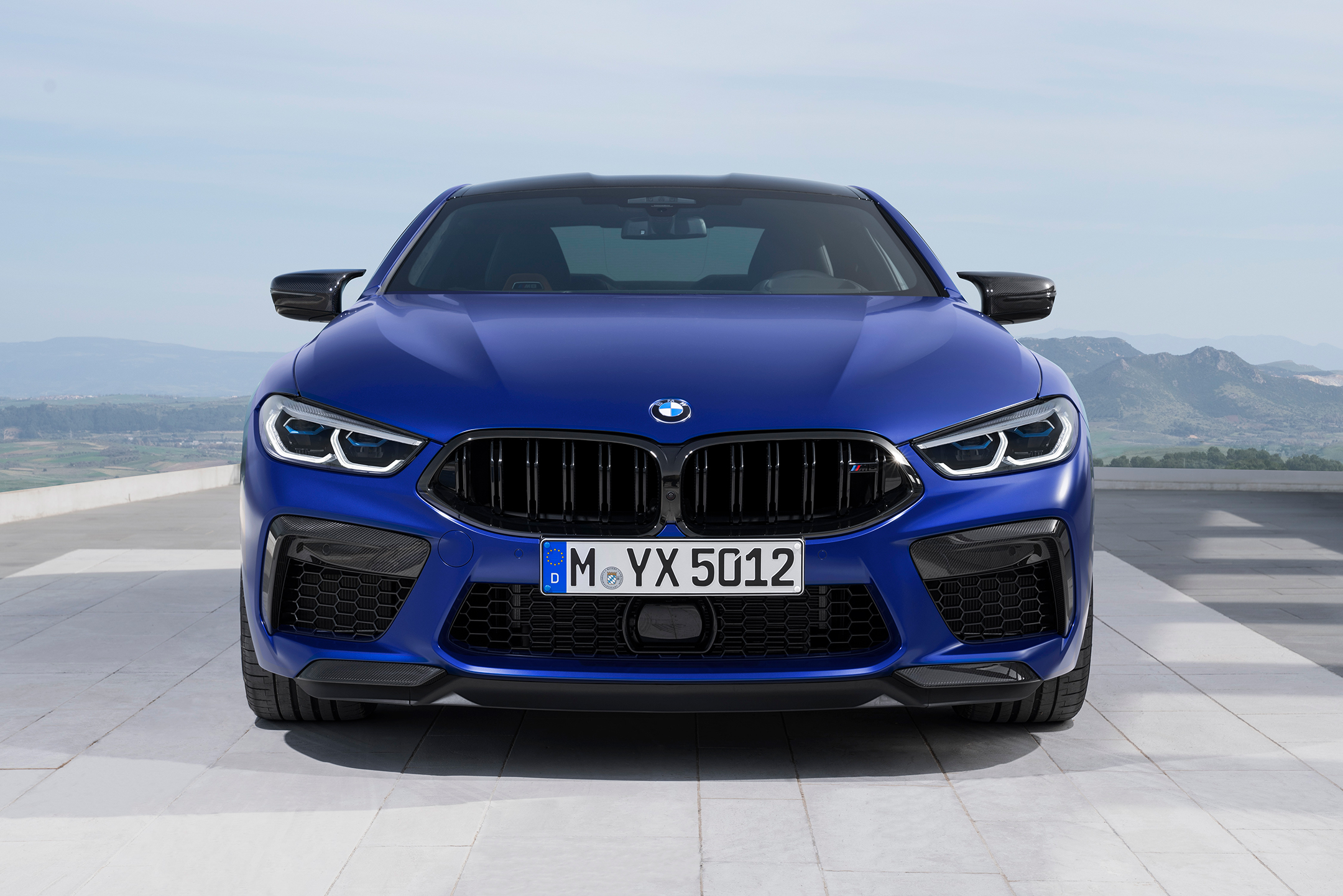 BMW M8 Competition Coupe - 2019 - front-face / face avant