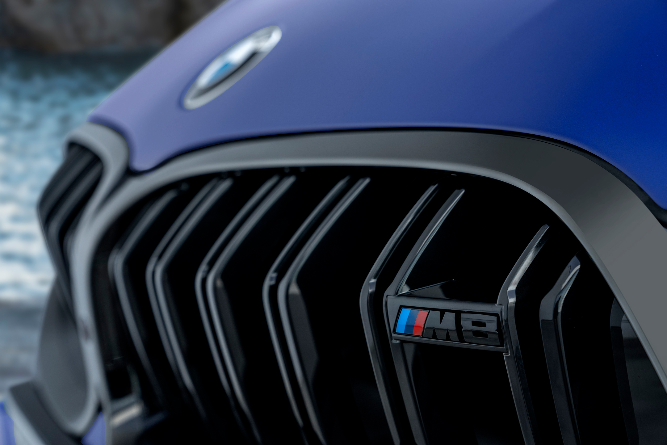 BMW M8 Competition Coupe - 2019 - front grill / calandre