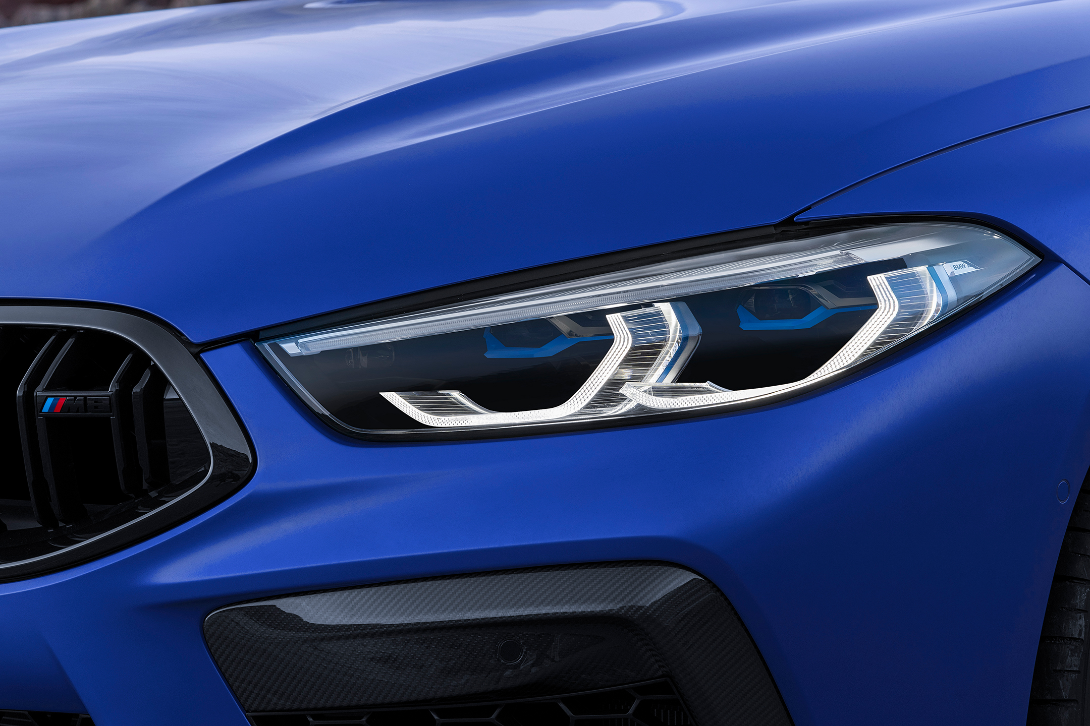 BMW M8 Competition Coupe - 2019 - front light