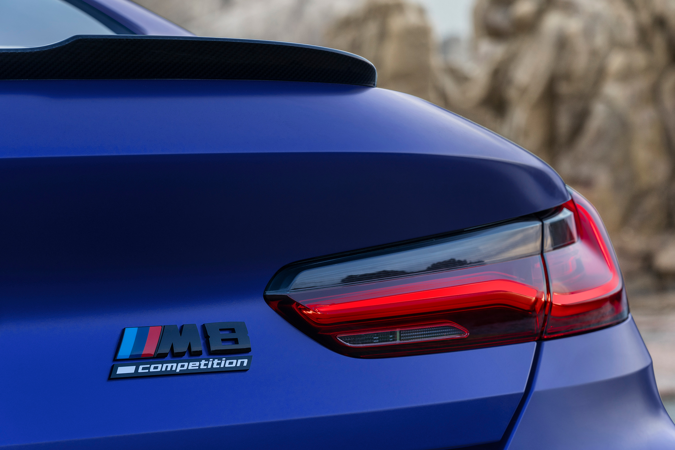 BMW M8 Competition Coupe - 2019 - rear light