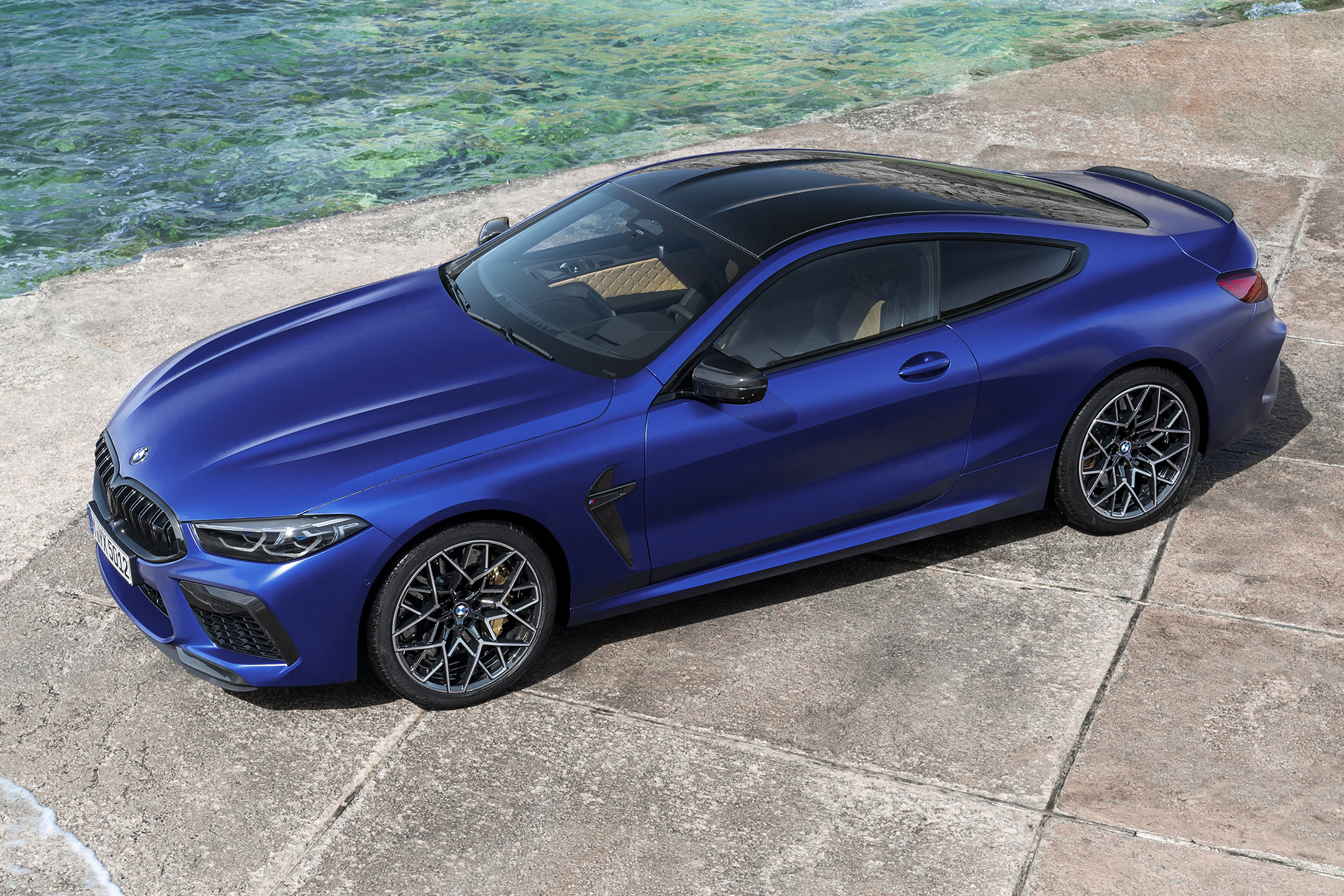 BMW M8 Competition Coupe - 2019 - top view
