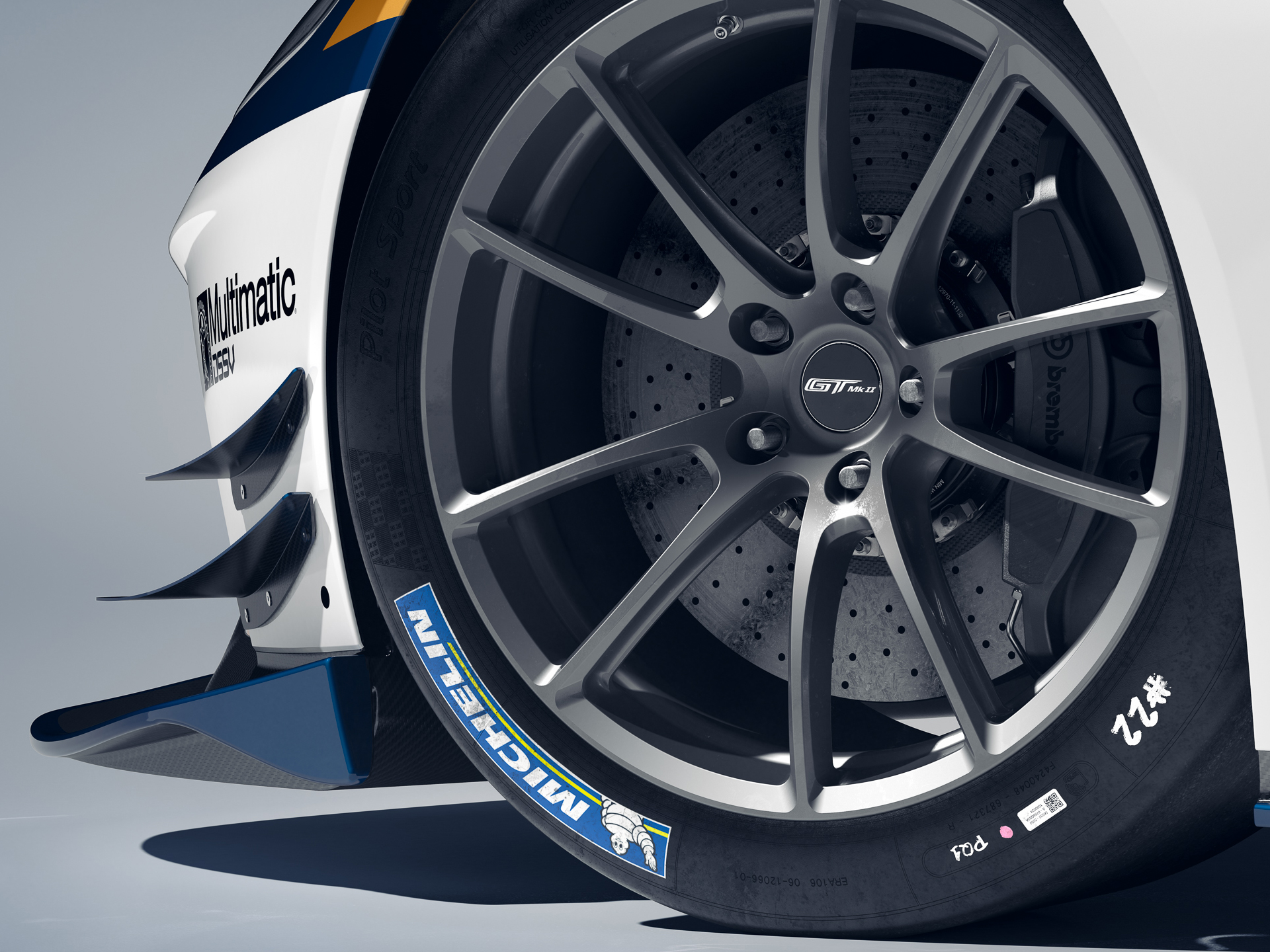 Ford GT Mk II - 2019 - Michelin tyre - Brembo brake disc