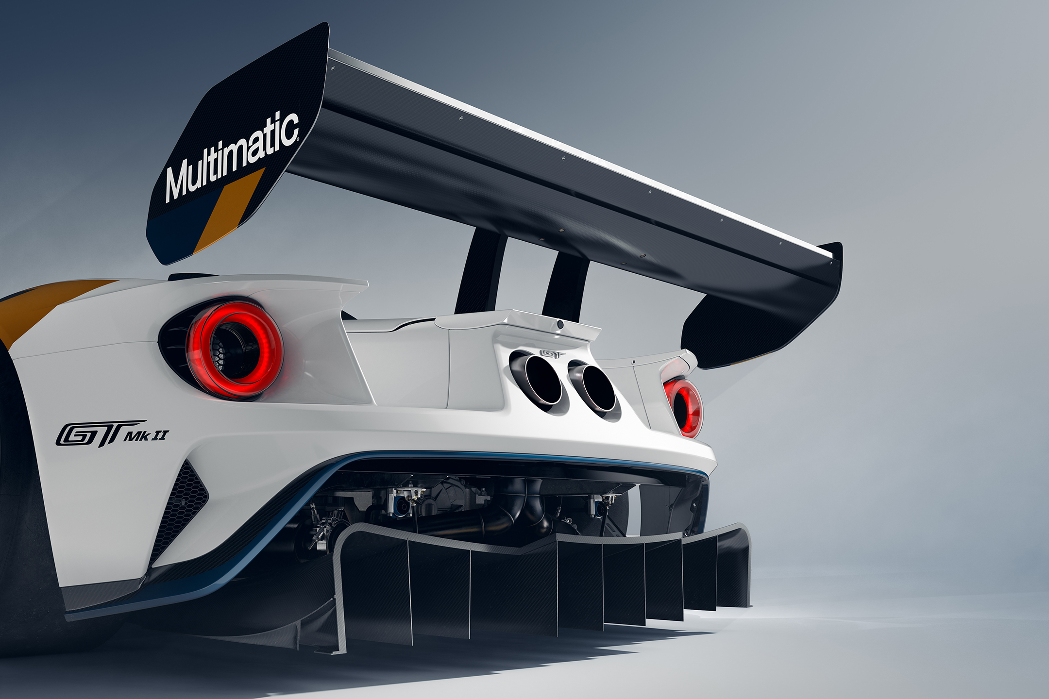 Ford GT Mk II - 2019 - rear wing / aileron