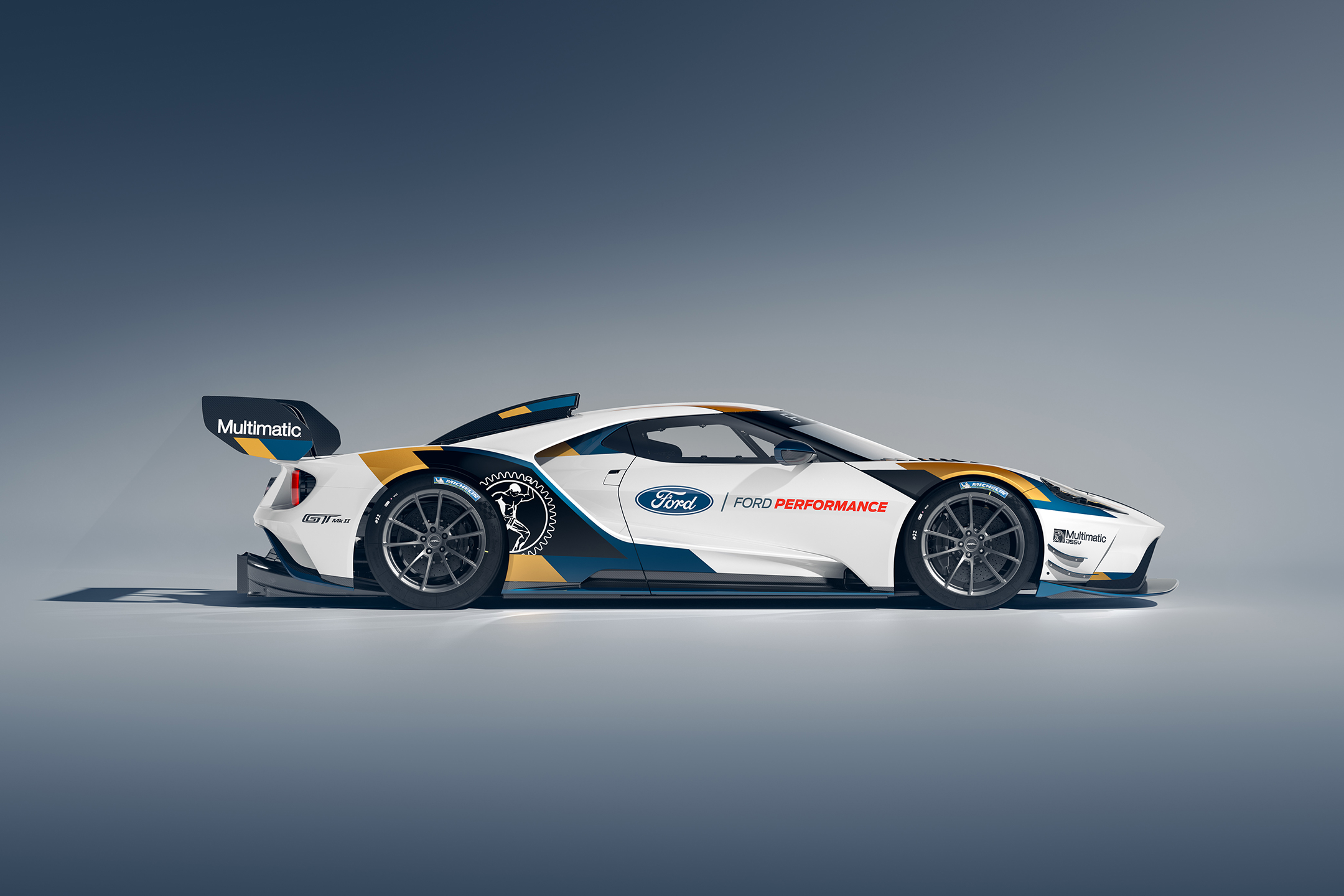Ford GT Mk II - 2019 - side-face / profil