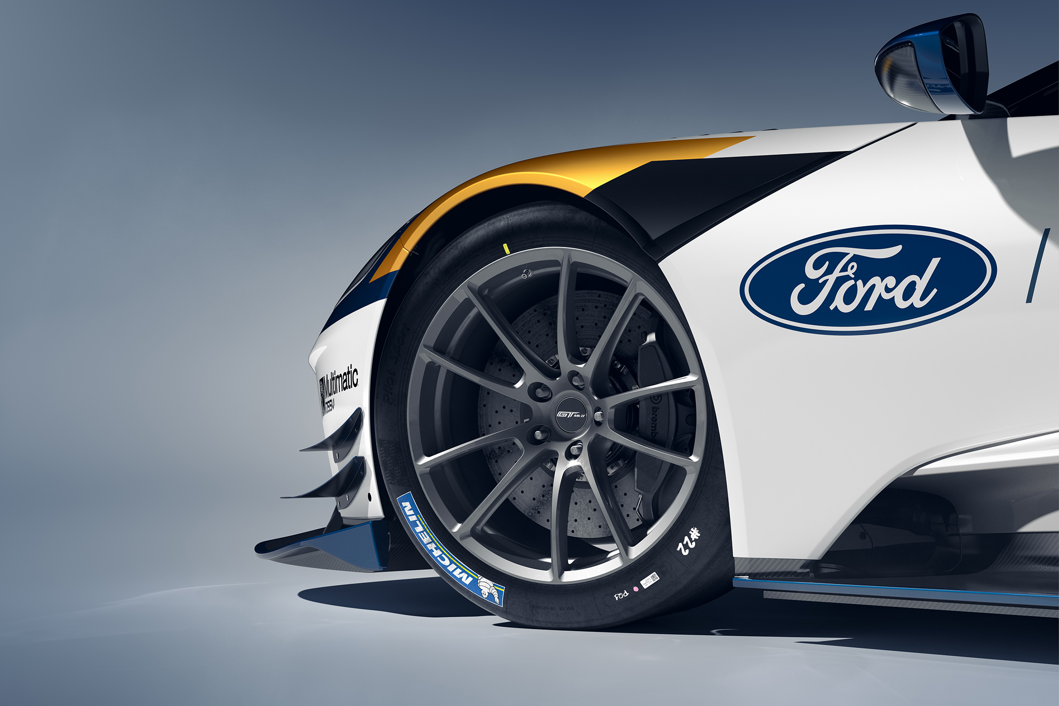 Ford GT Mk II - 2019 - wheel / jante - brake disc / disque de frein