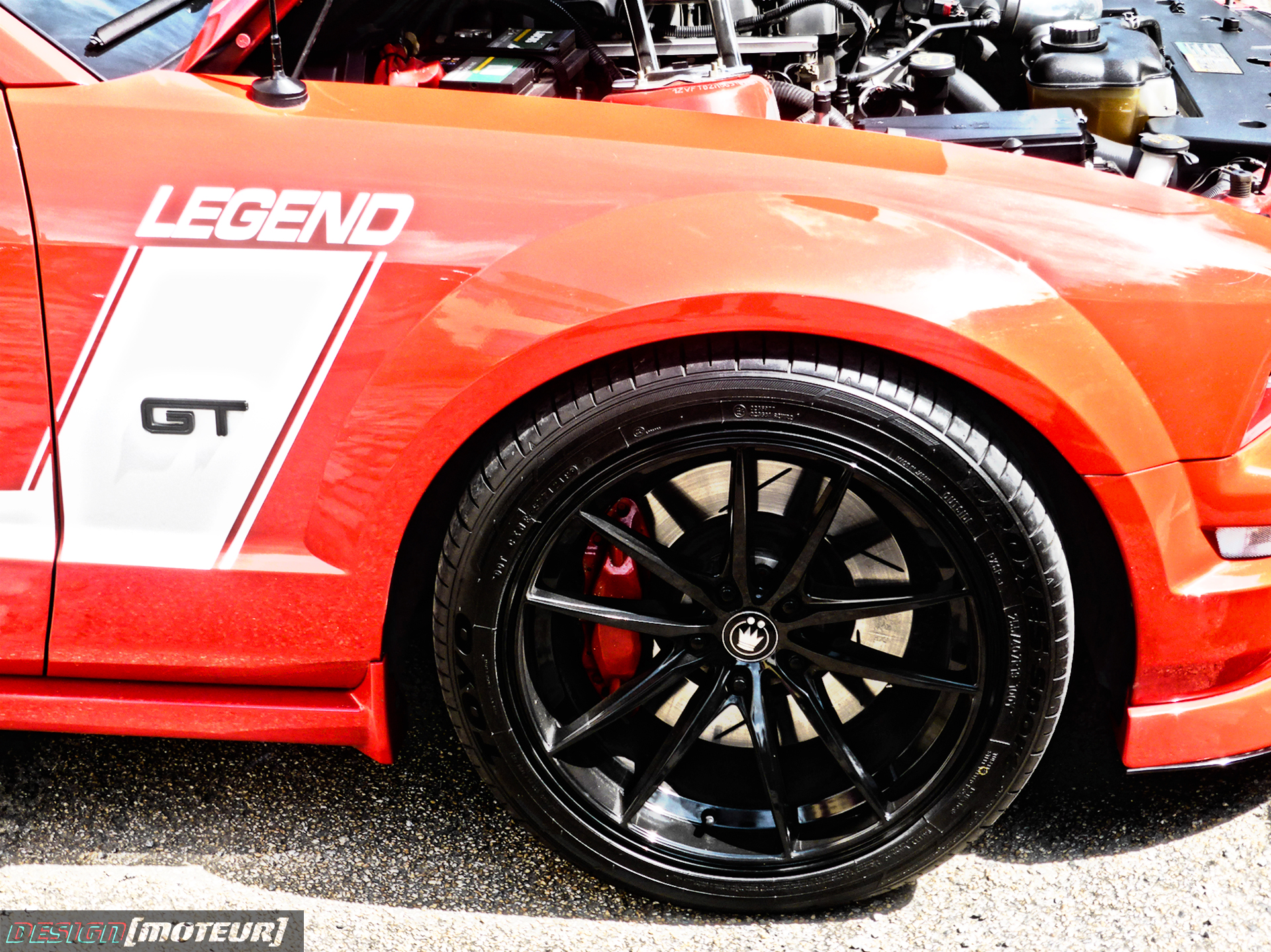 Ford Mustang GT Legend - wheel - US Cars and Bikes 2019 - photo ELJ DESIGNMOTEUR