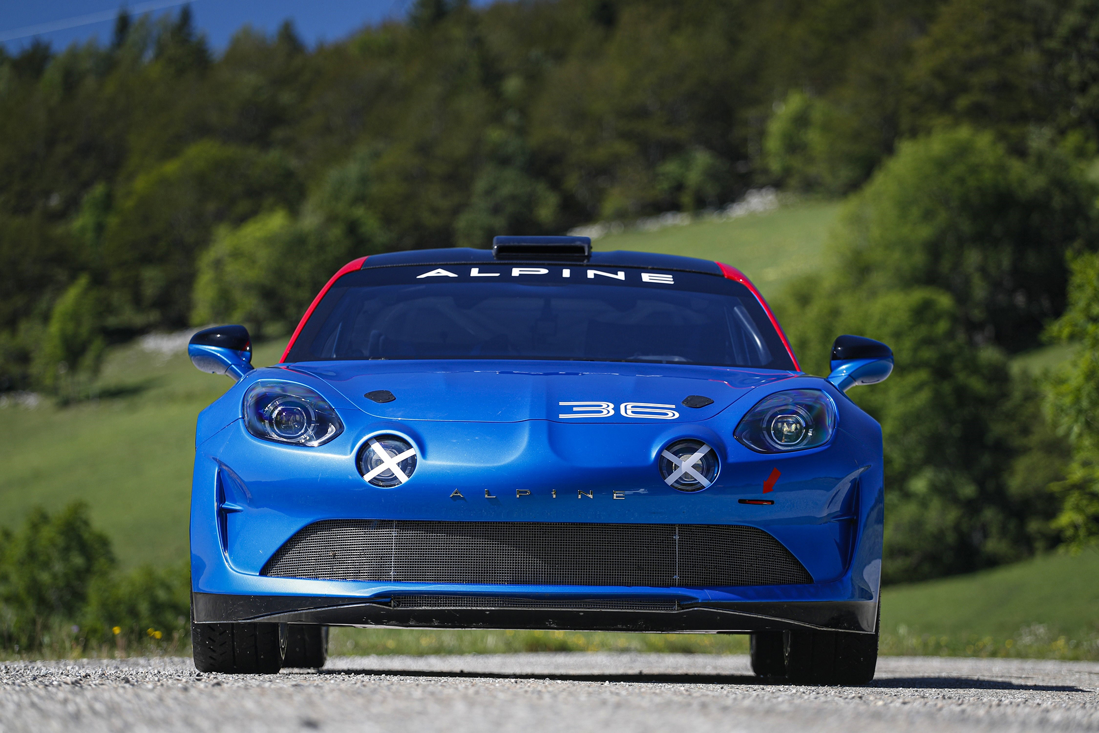 Alpine A110 Rally - 2019 - front-face / face avant