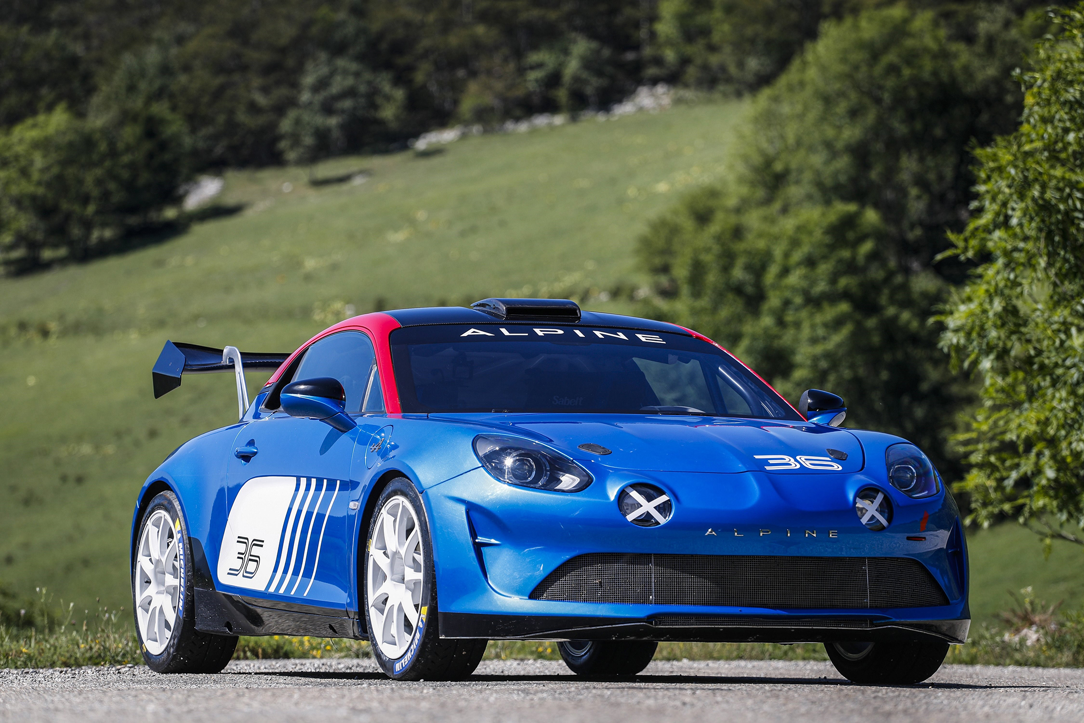 Alpine A110 Rally - 2019 - front side-face / profil avant
