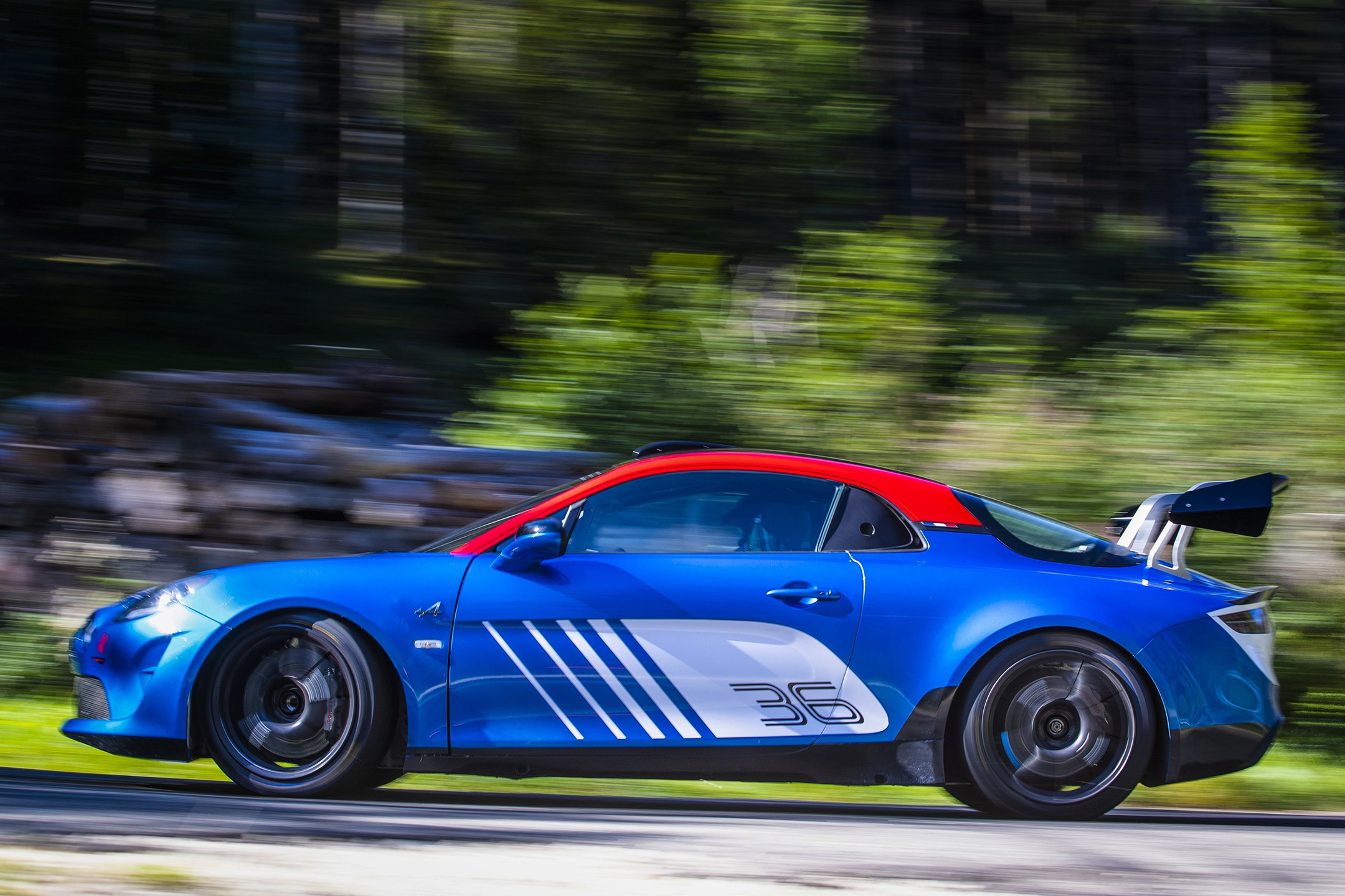 Alpine A110 Rally - 2019 - side-face / profil - speed