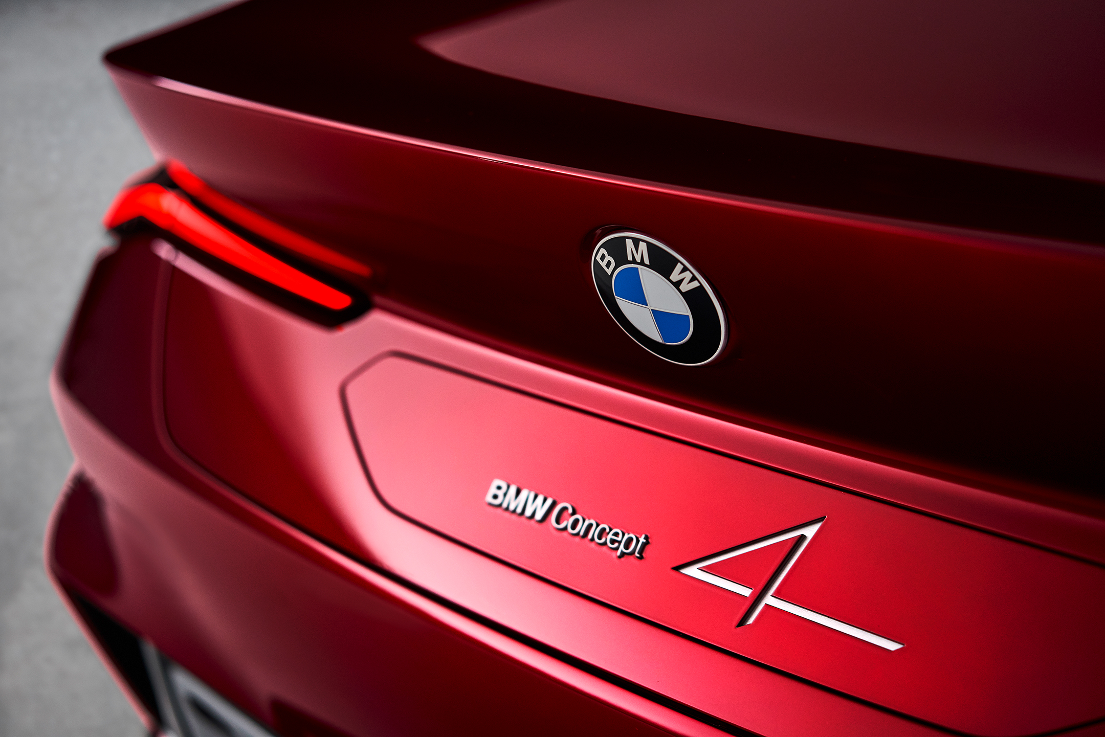 BMW Concept 4 - 2019 - rear logo