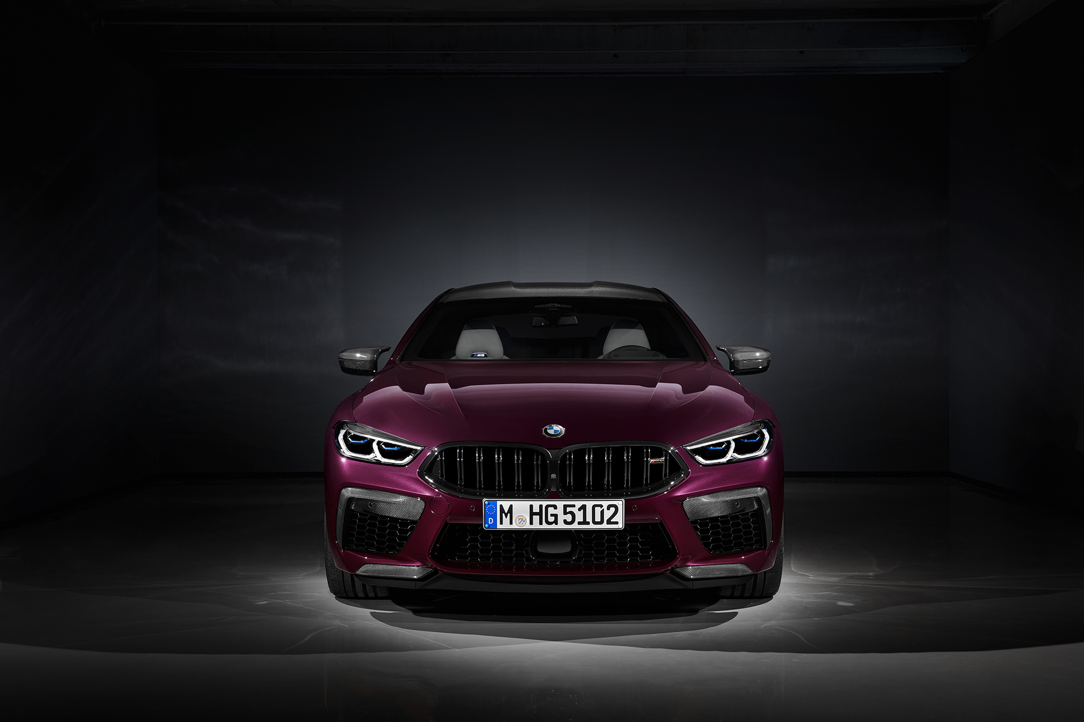 BMW M8 Competition Gran Coupé - 2019 - front face / face avant