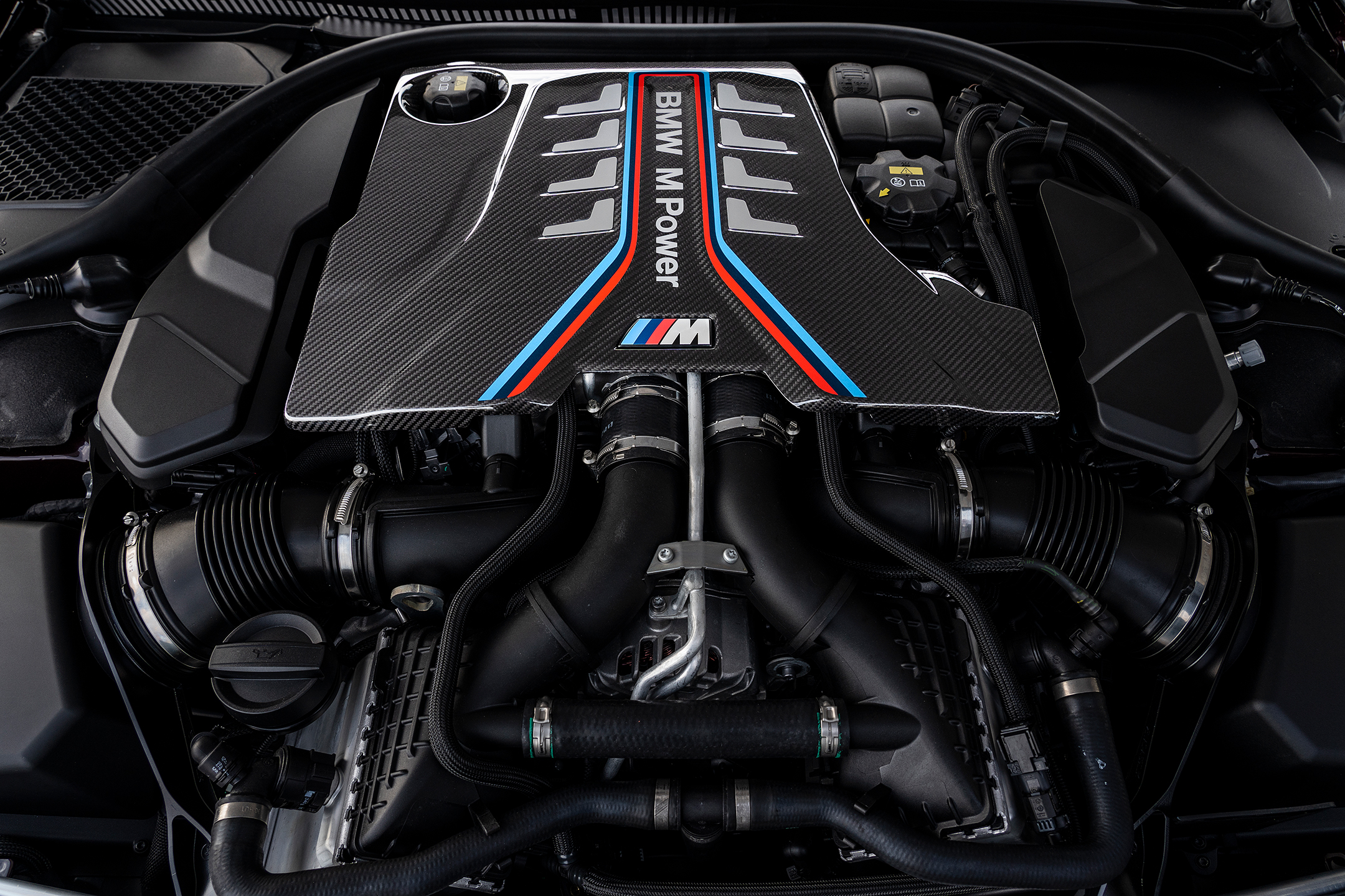 BMW M8 Competition Gran Coupe - 2019 - engine / moteur - V8 - 4.4L - TwinTurbo