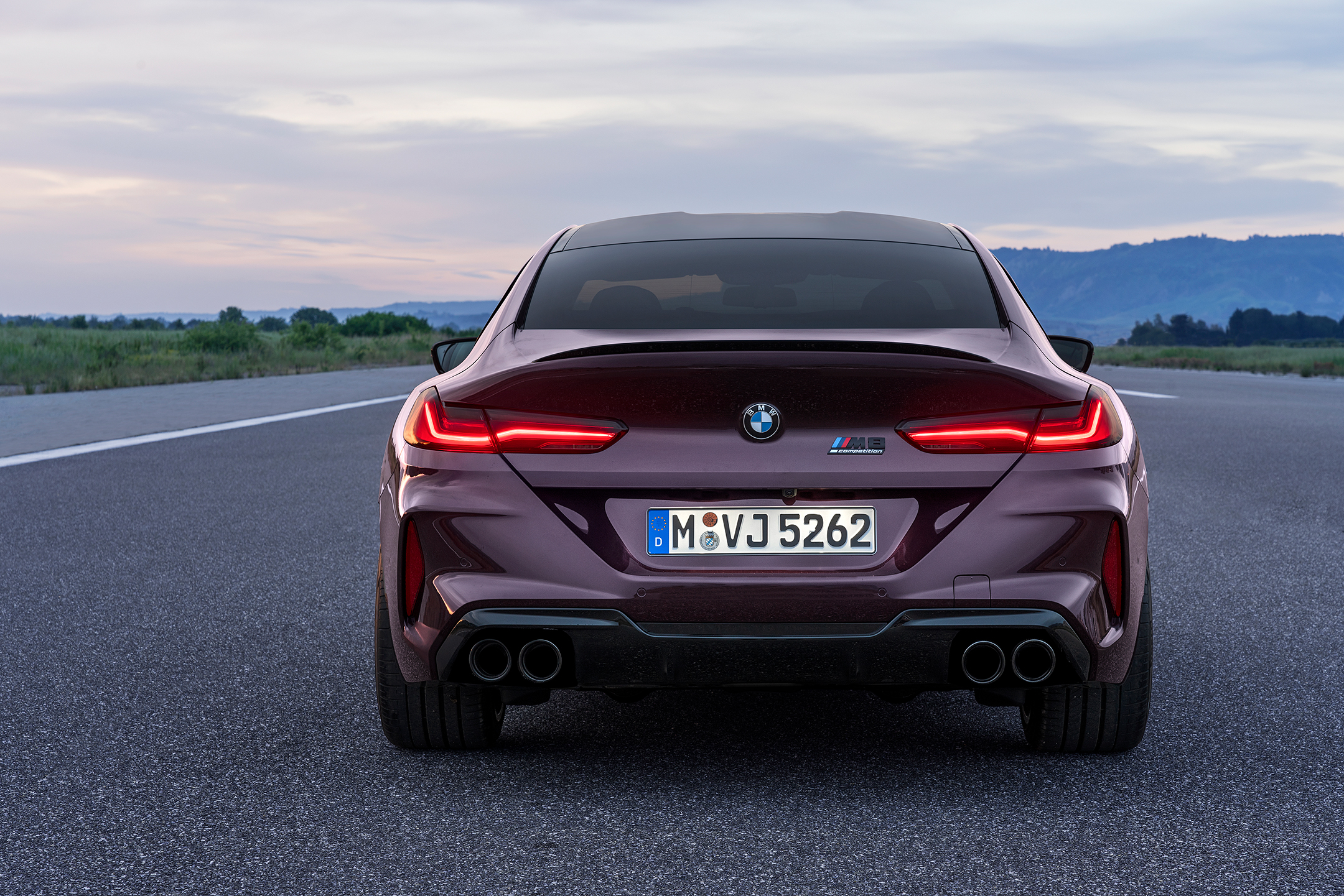 BMW M8 Competition Gran Coupé - 2019 - rear light