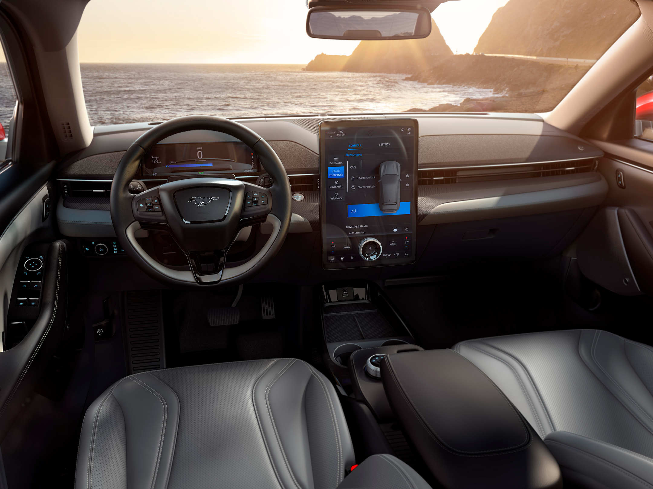 Ford Mustang Mach-E - 2019 - interior / intérieur