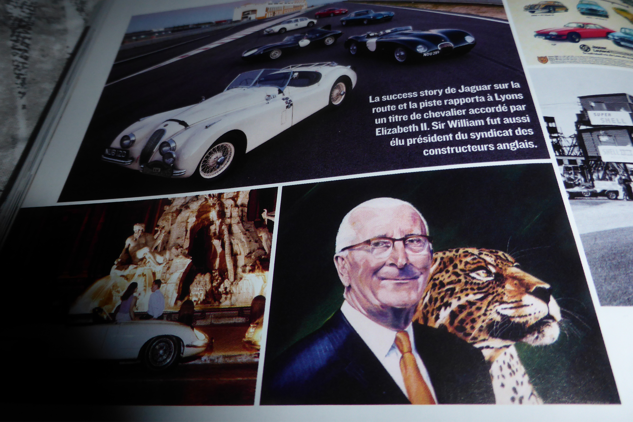 William Lyons - Mr. Jaguar - co-founder Jaguar Cars - portrait photo - via Auto Heroes - numéro 16 - octobre-novembre-décembre-2019