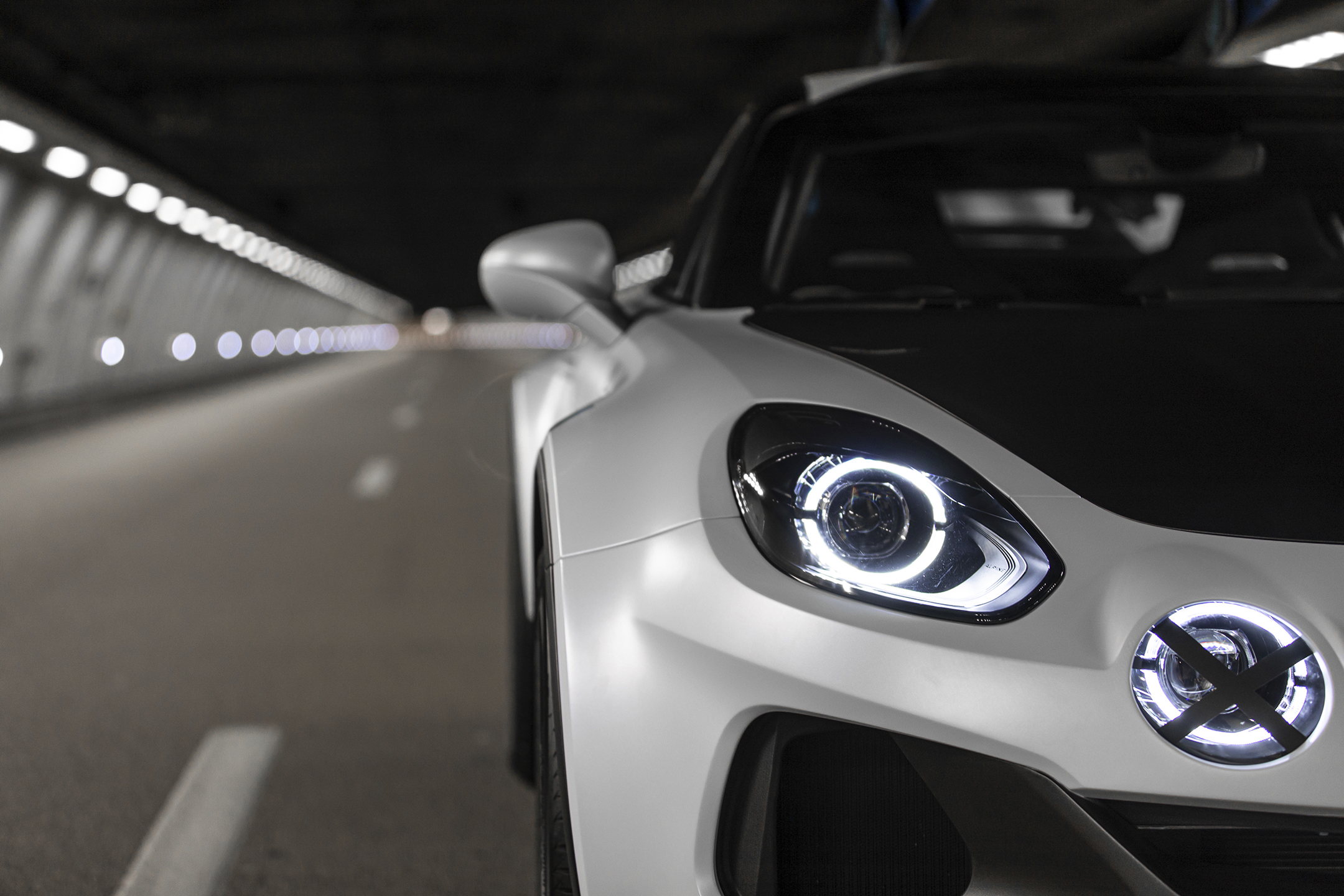 Alpine A110 SportsX - 2020 - front light / optique avant