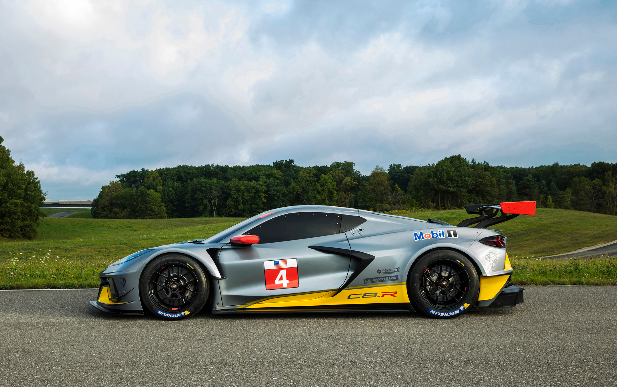 Chevrolet Corvette C8.R - 2019 - side-face / profil