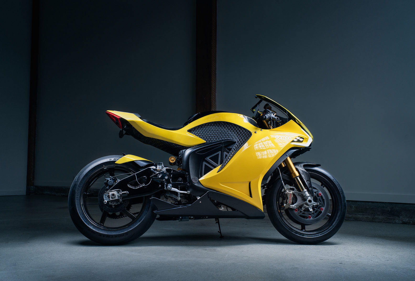 Damon Motorcycles Hypersport Premier - 2020 - side-face / profil