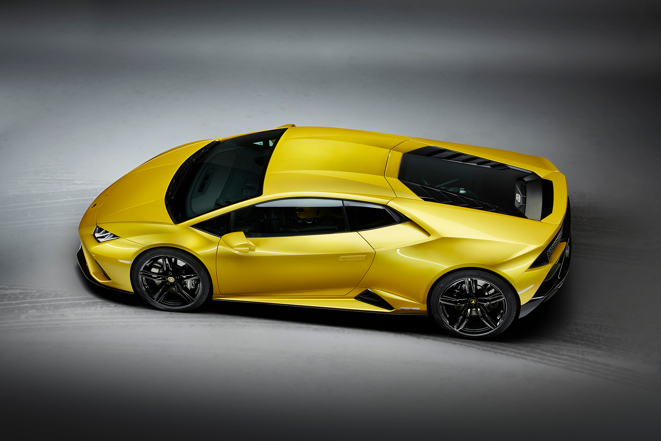 Lamborghini Huracán EVO RWD - 2020 - top view - side-face / profil