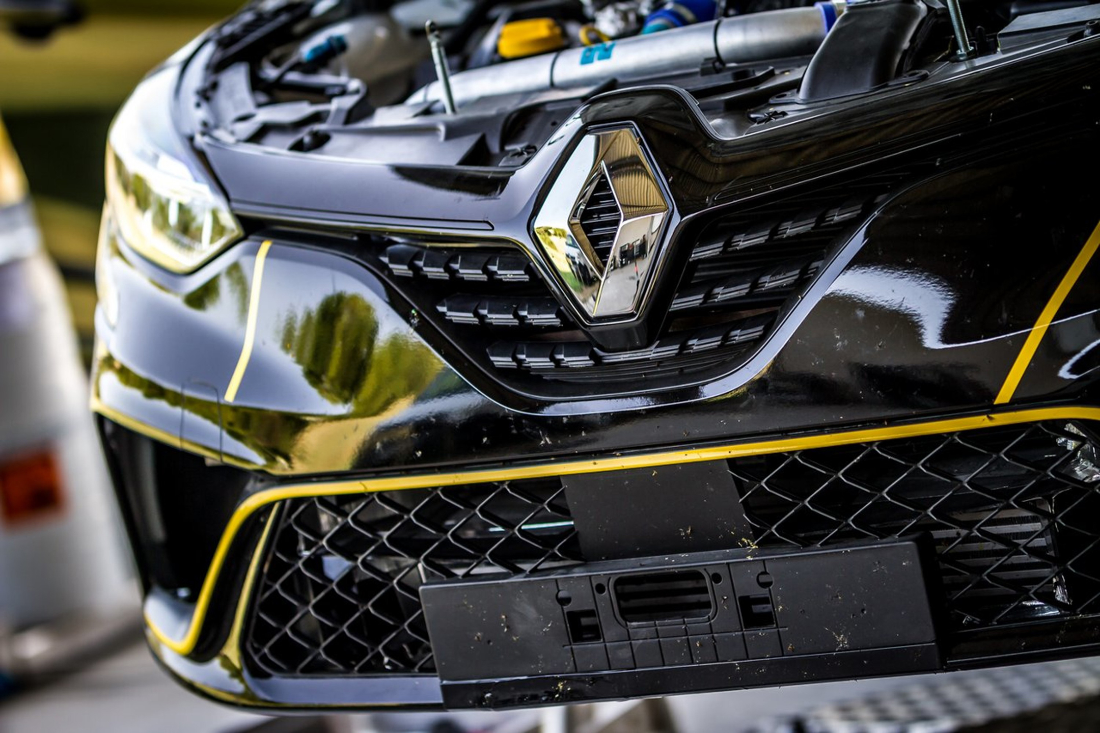 Renault Clio Rally - 2020 - radiator grille / calandre