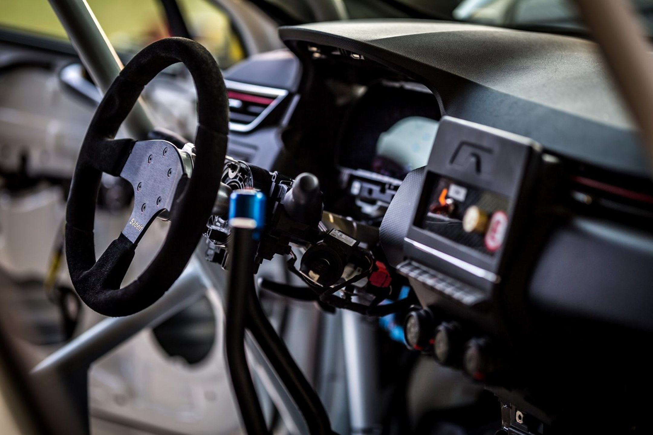 Renault Clio Rally - 2020 - steering wheel / volant course