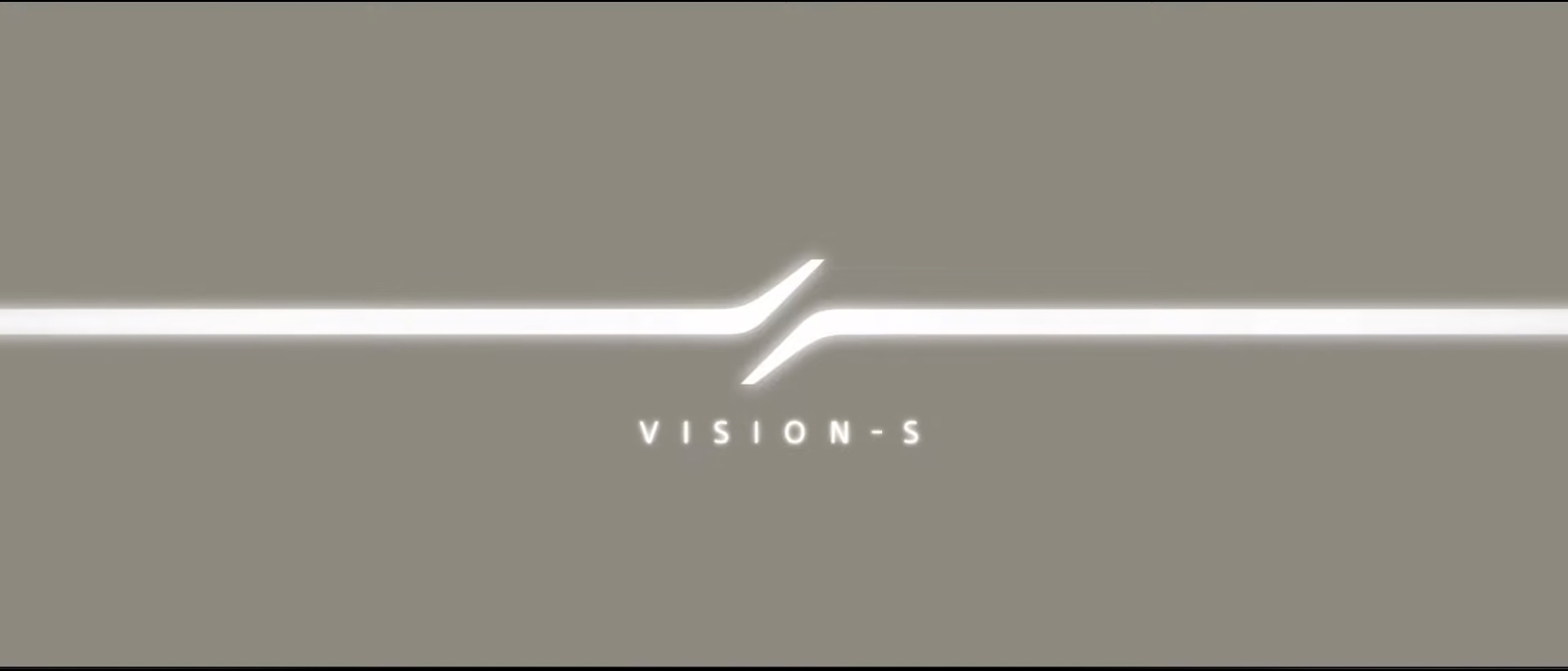 Sony VISION-S - 2020 - official logo / logotype officiel