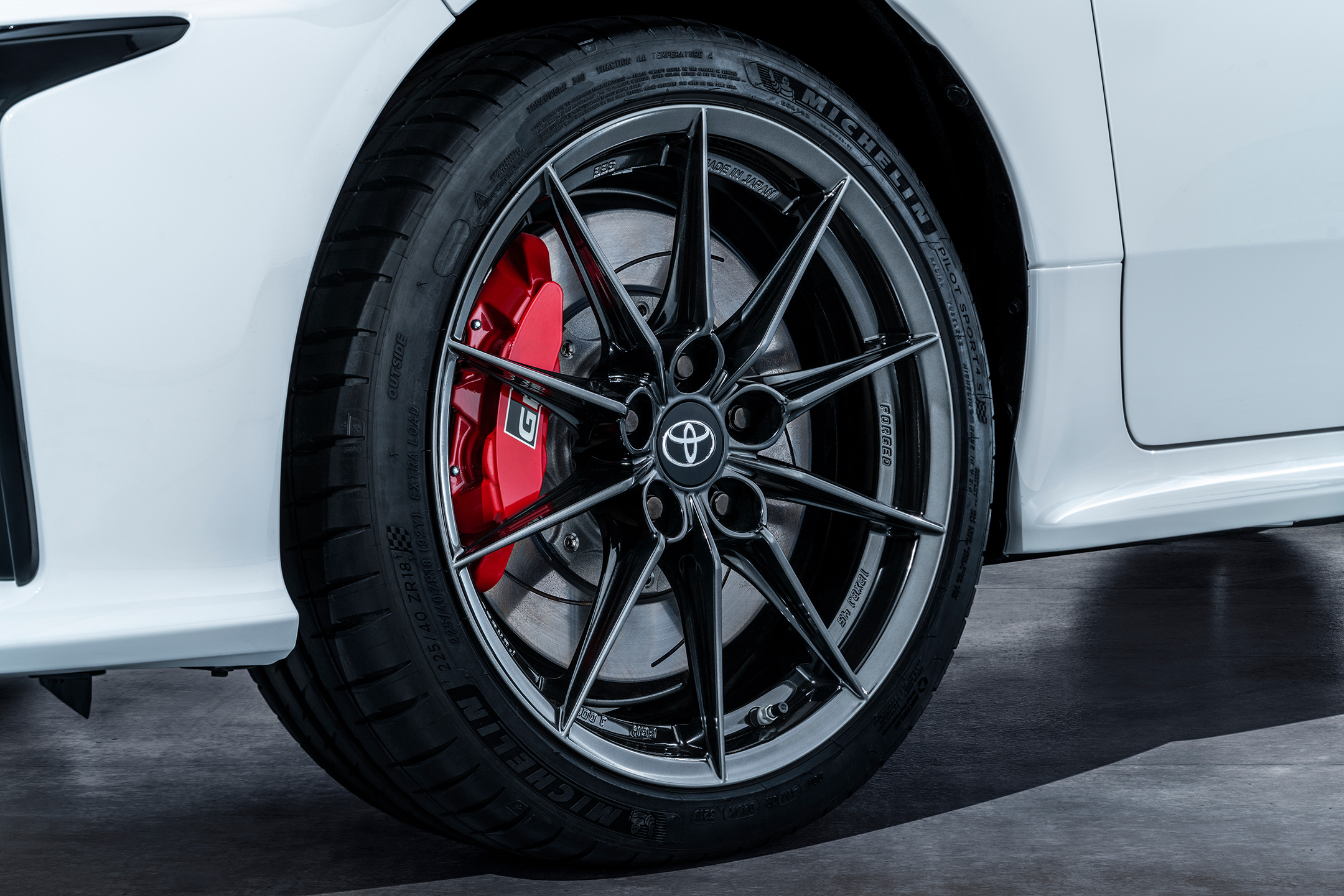 Toyota GR Yaris - 2020 - chassis / châssis - wheel / jante - tyres / pneus - Michelin
