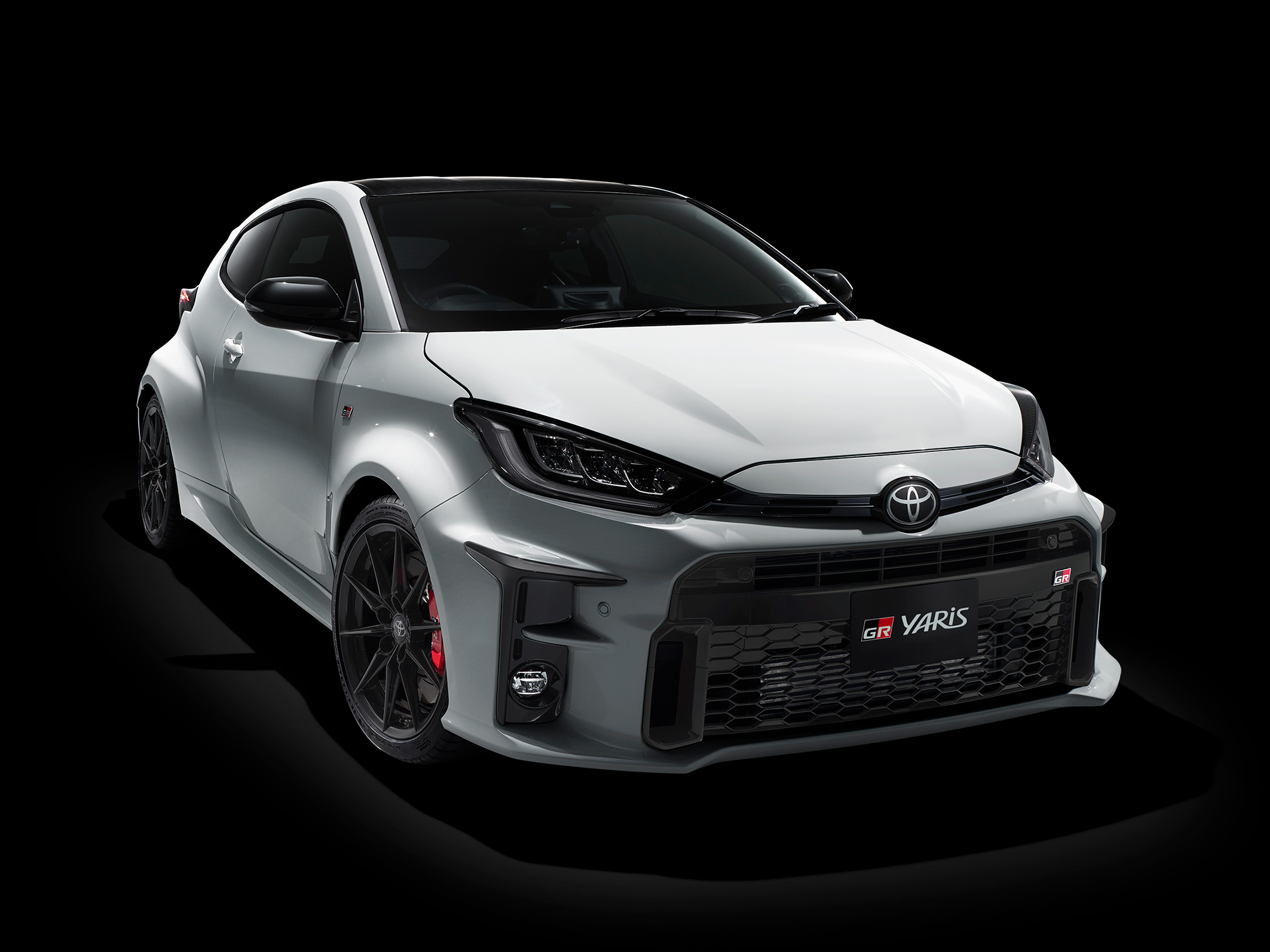 Toyota GR Yaris - 2020 - top front side-face