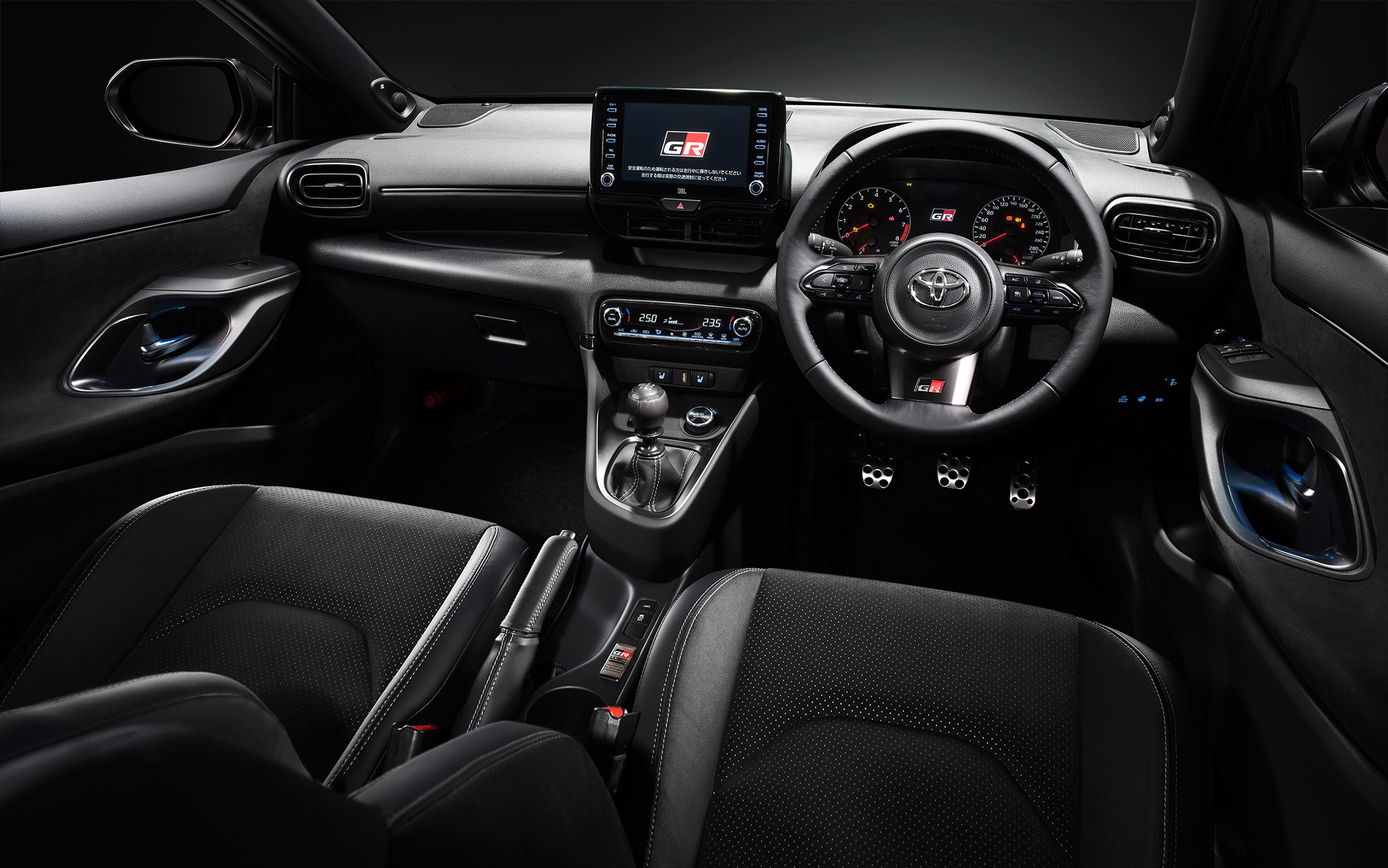 Toyota GR Yaris - 2020 - interior - RHD (Right-Hand-Drive)