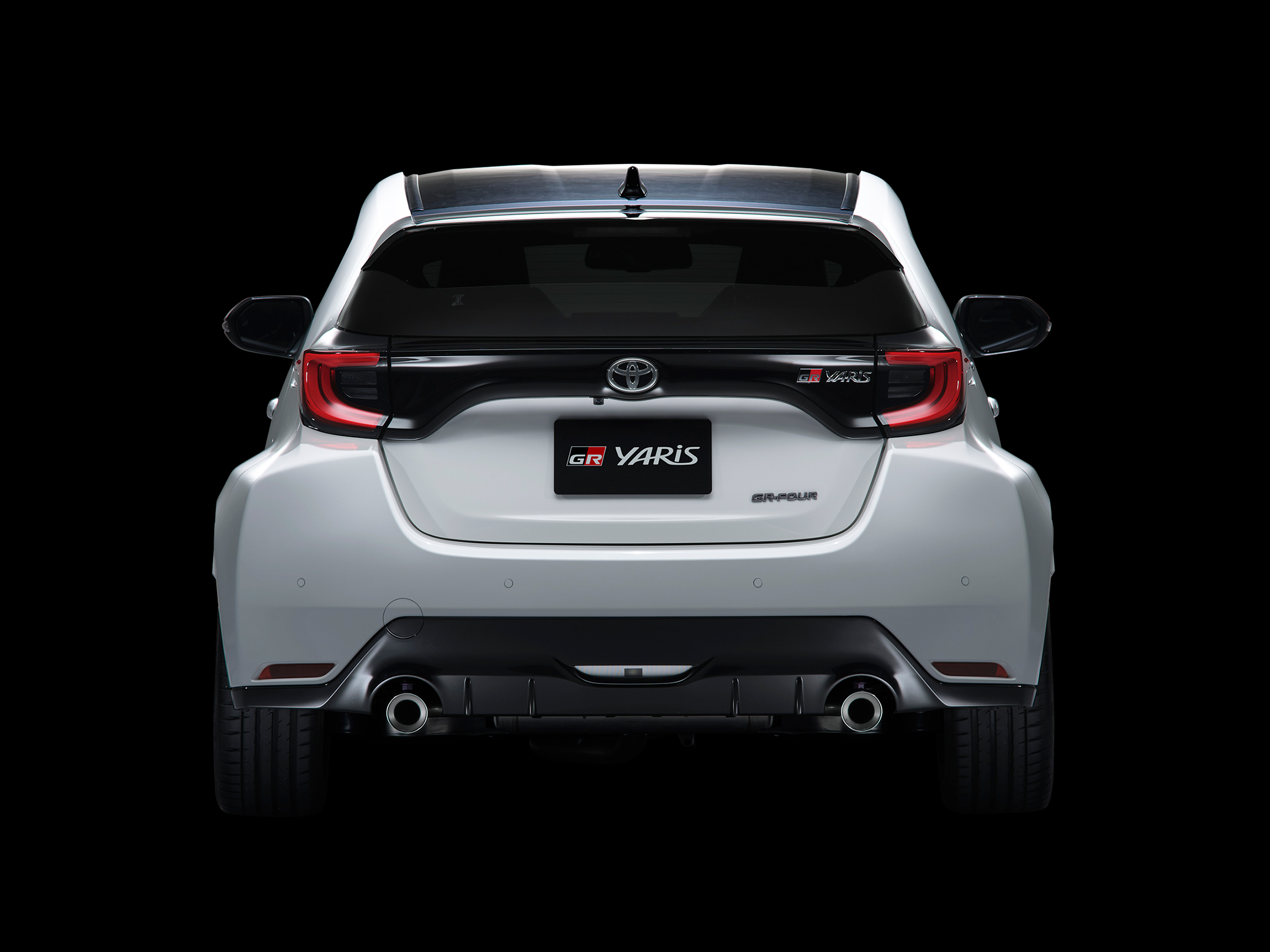 Toyota GR Yaris - 2020 - top rear-face