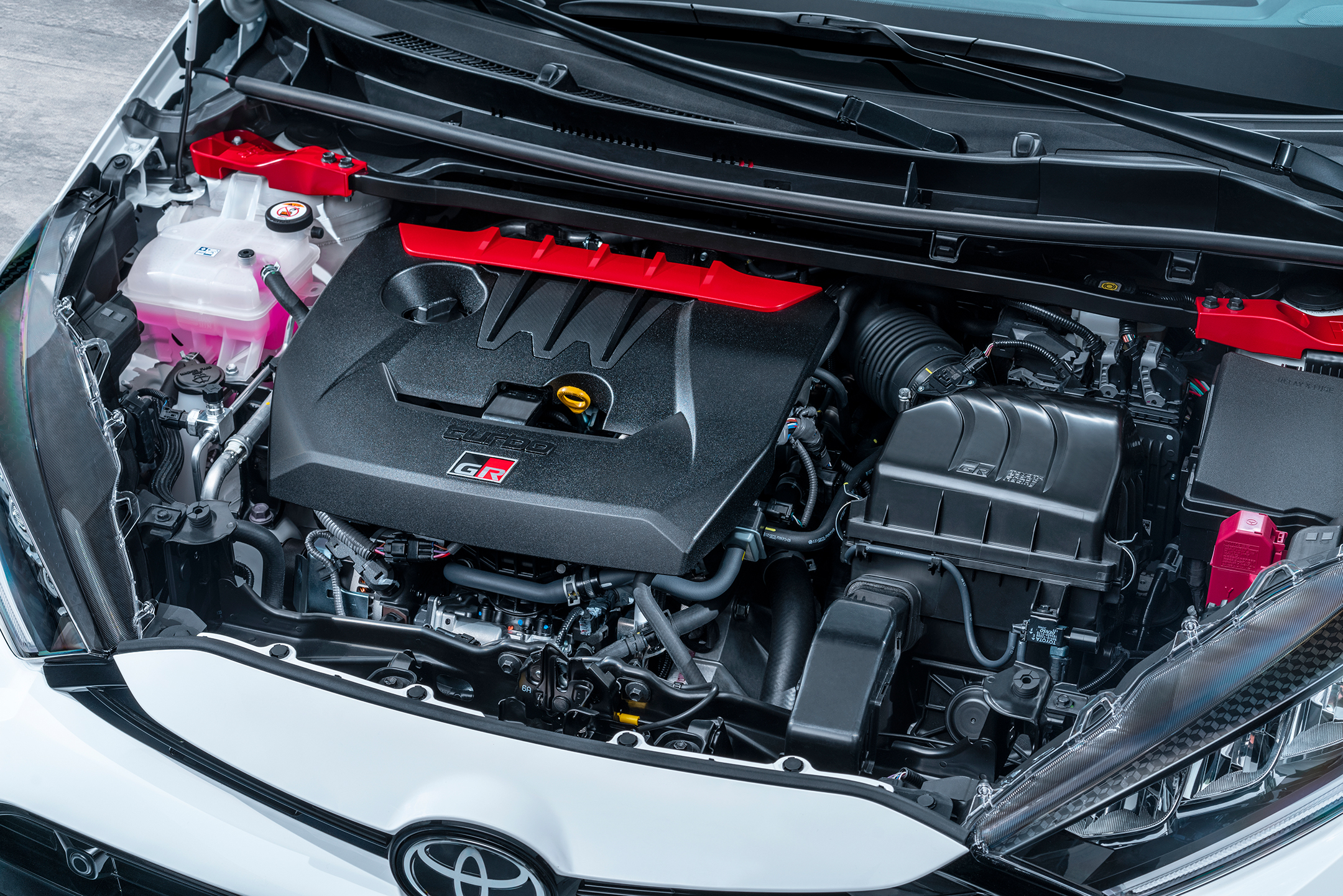 Toyota GR Yaris - 2020 - engine / moteur - under the hood
