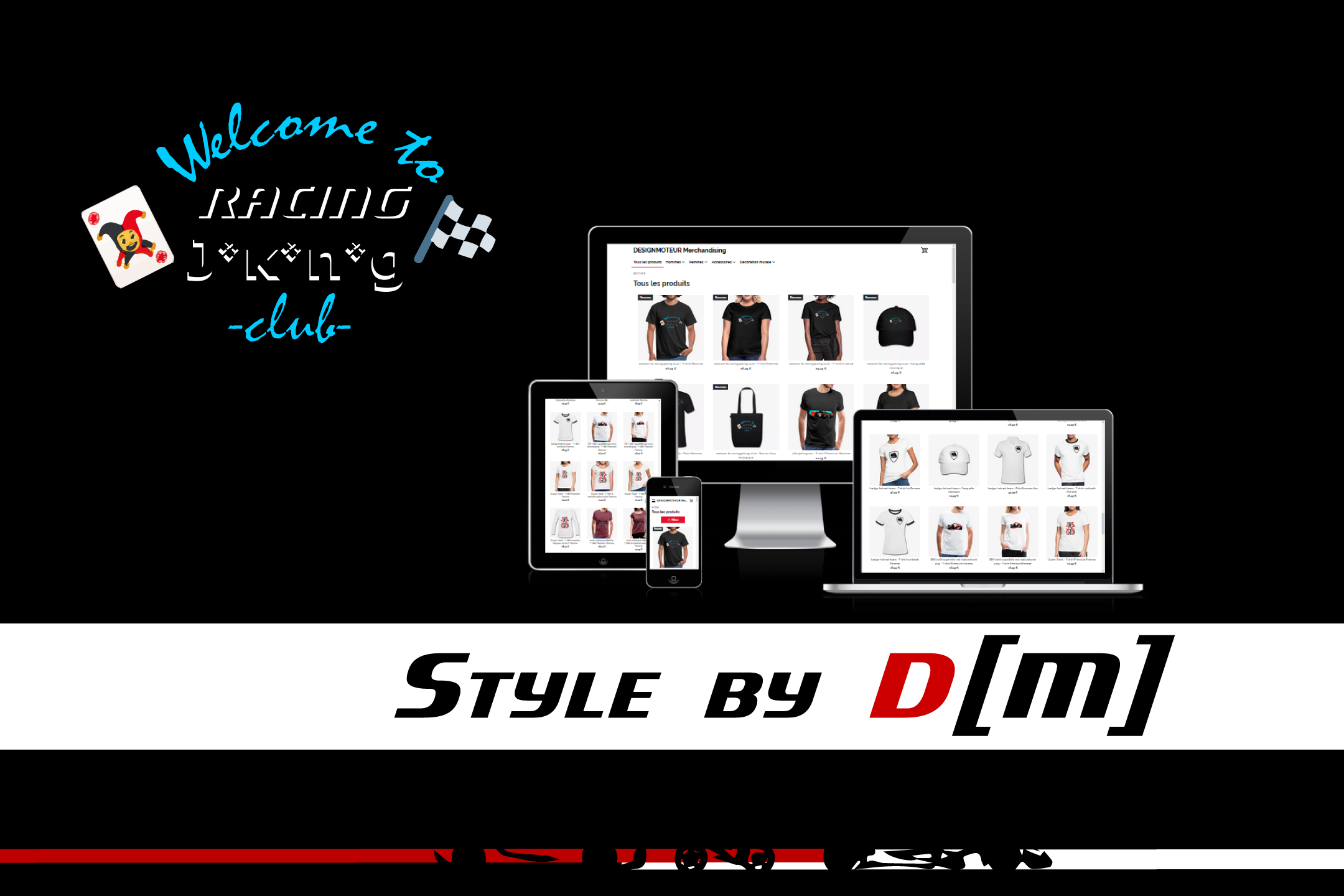 style by DM 2020 lookbook racing joking club