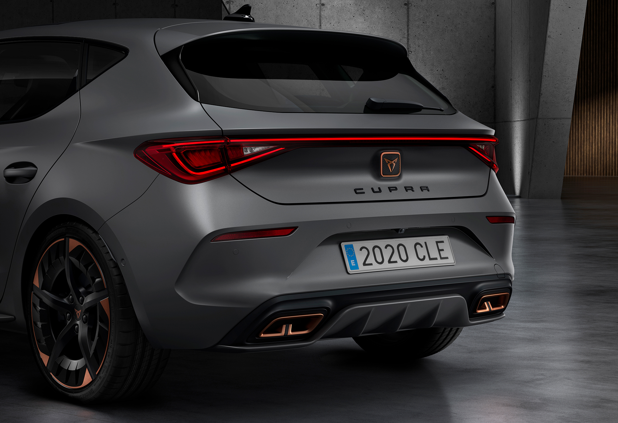CUPRA Leon - 2020 - rear light