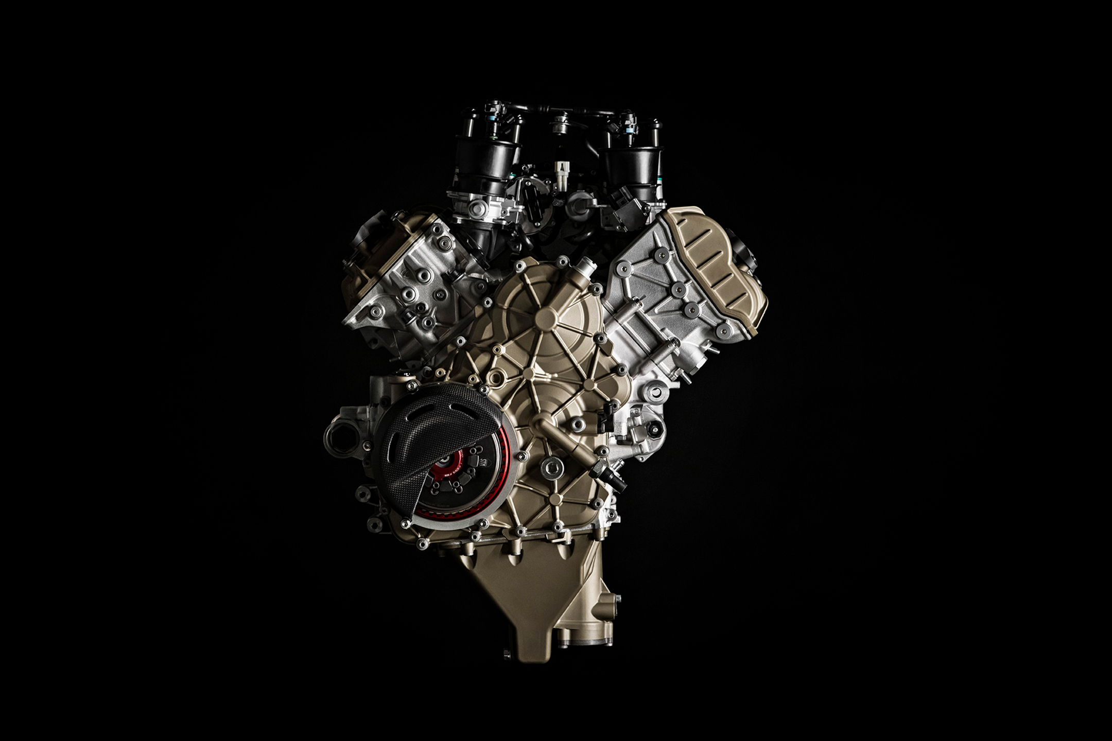 Ducati Superleggera V4 - 2020 - engine / moteur - Desmosedici V4 998cc