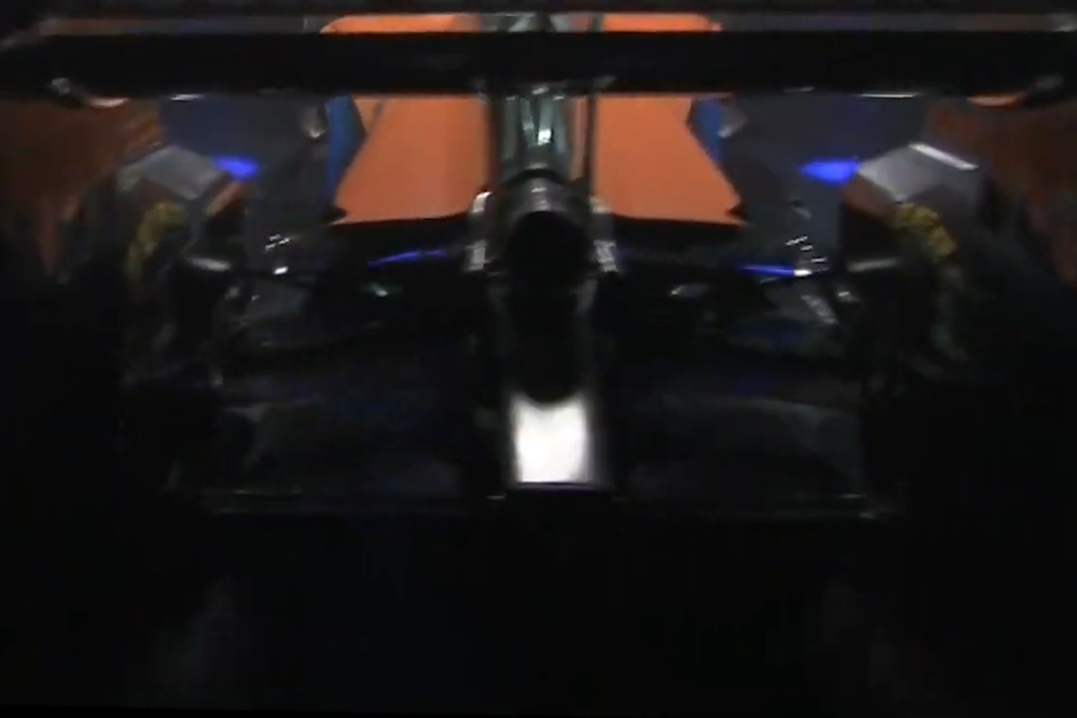 F1 - McLaren Racing - MCL35 - 2020 - Power Unit - Renault E-Tech 20 - 35A engine - McLaren Applied Technologies - rear-preview