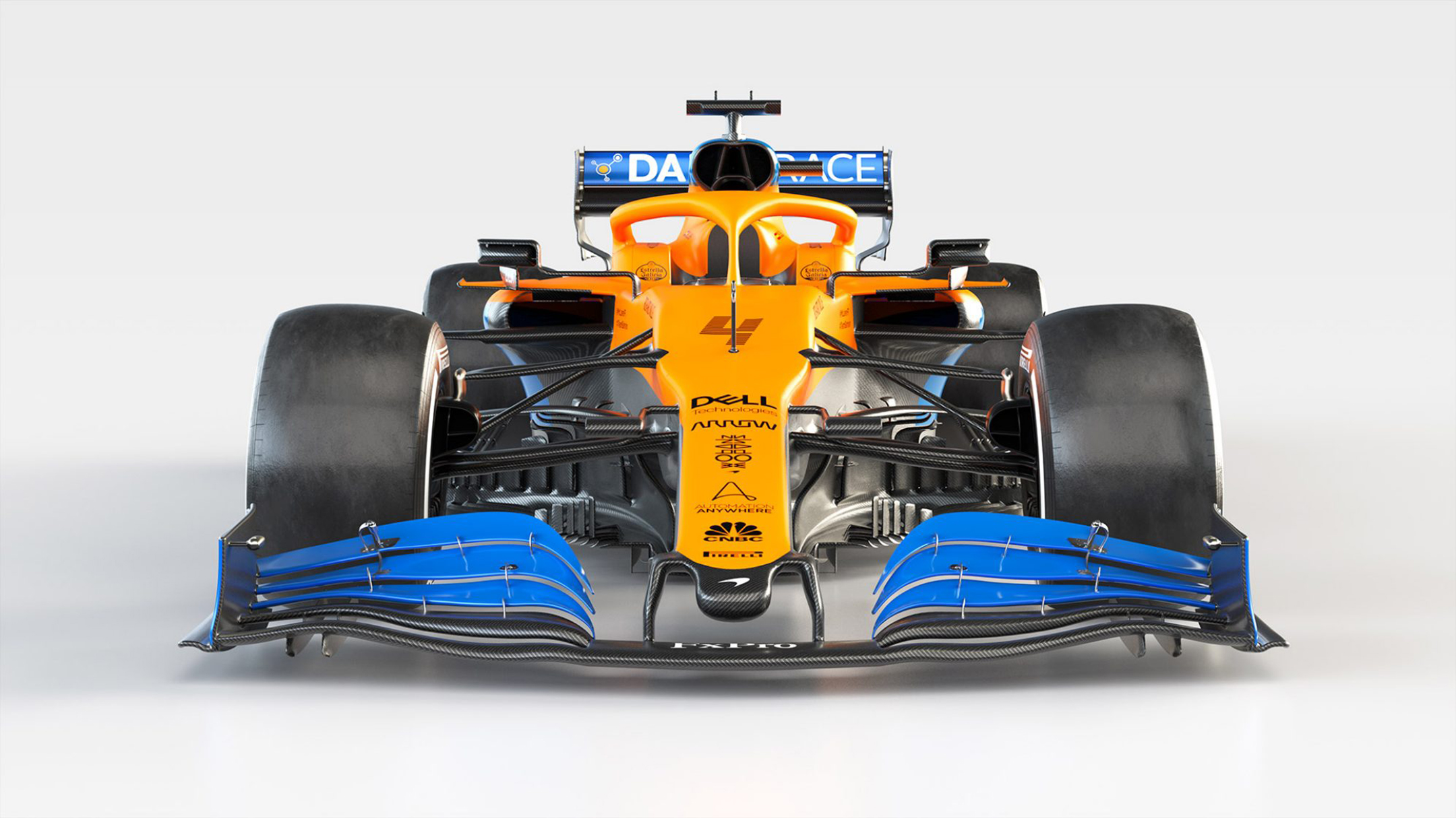F1 - McLaren Racing - MCL35 - 2020 - front-face - Renault E-Tech 20 - 35A engine - McLaren Applied Technologies