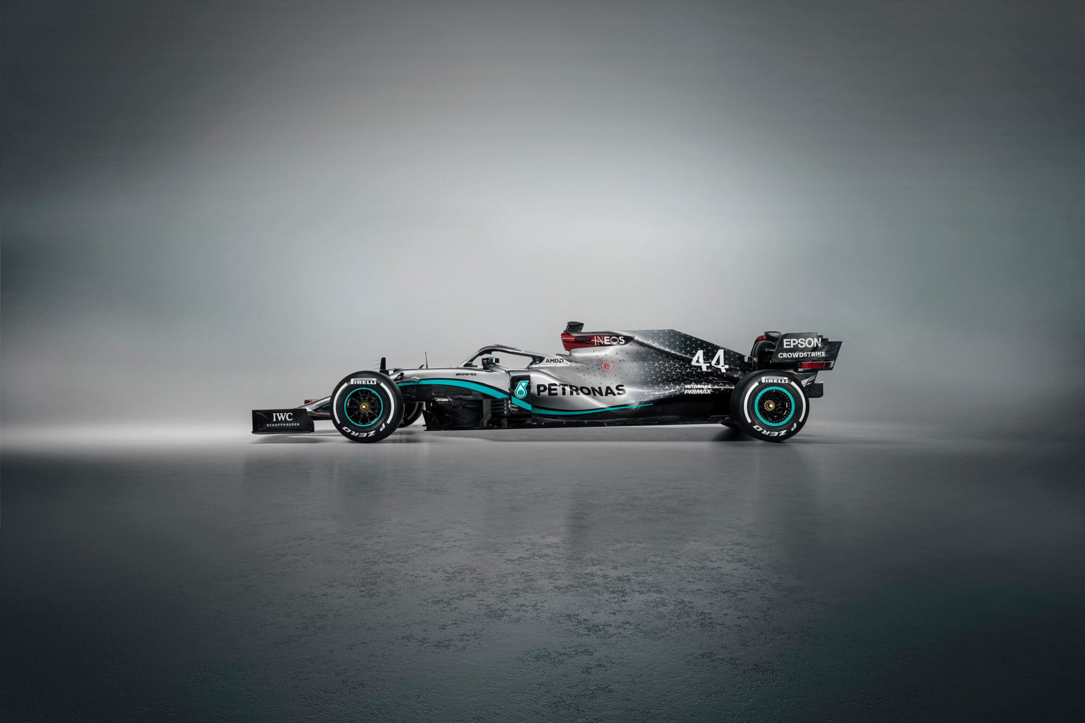 F1 - Mercedes-AMG F1 Team - W11 - 2020 - side-face