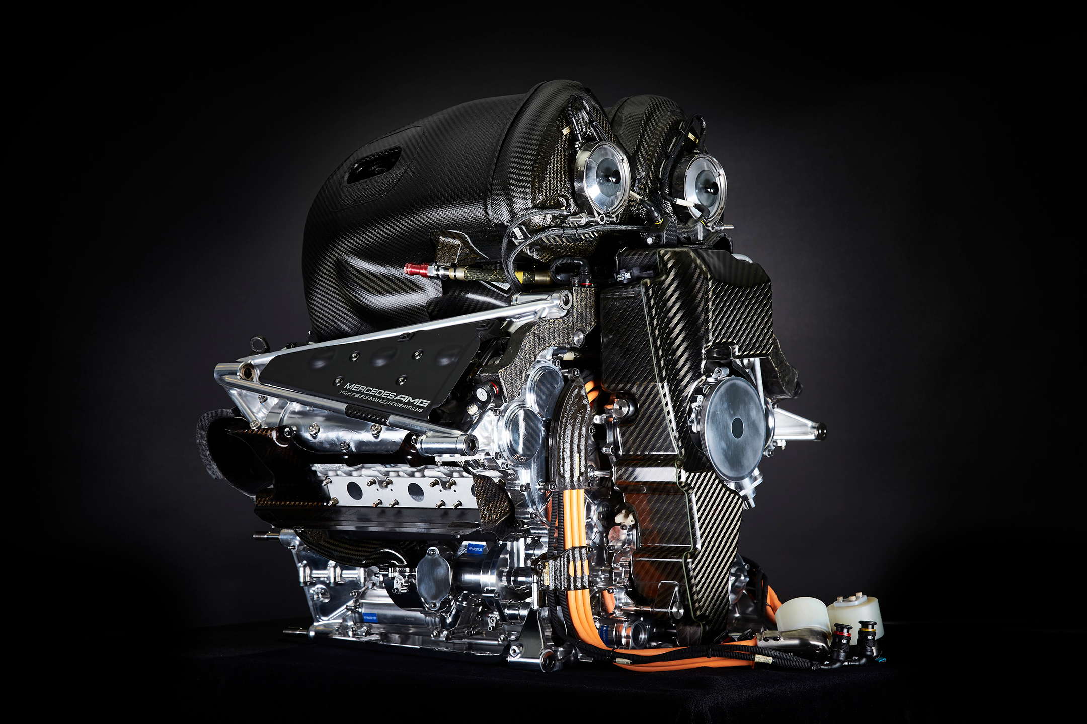 F1 - Mercedes-AMG - W11 - 2020 - engine Power Unit - HPP - 1.6L V6 turbo hybrid