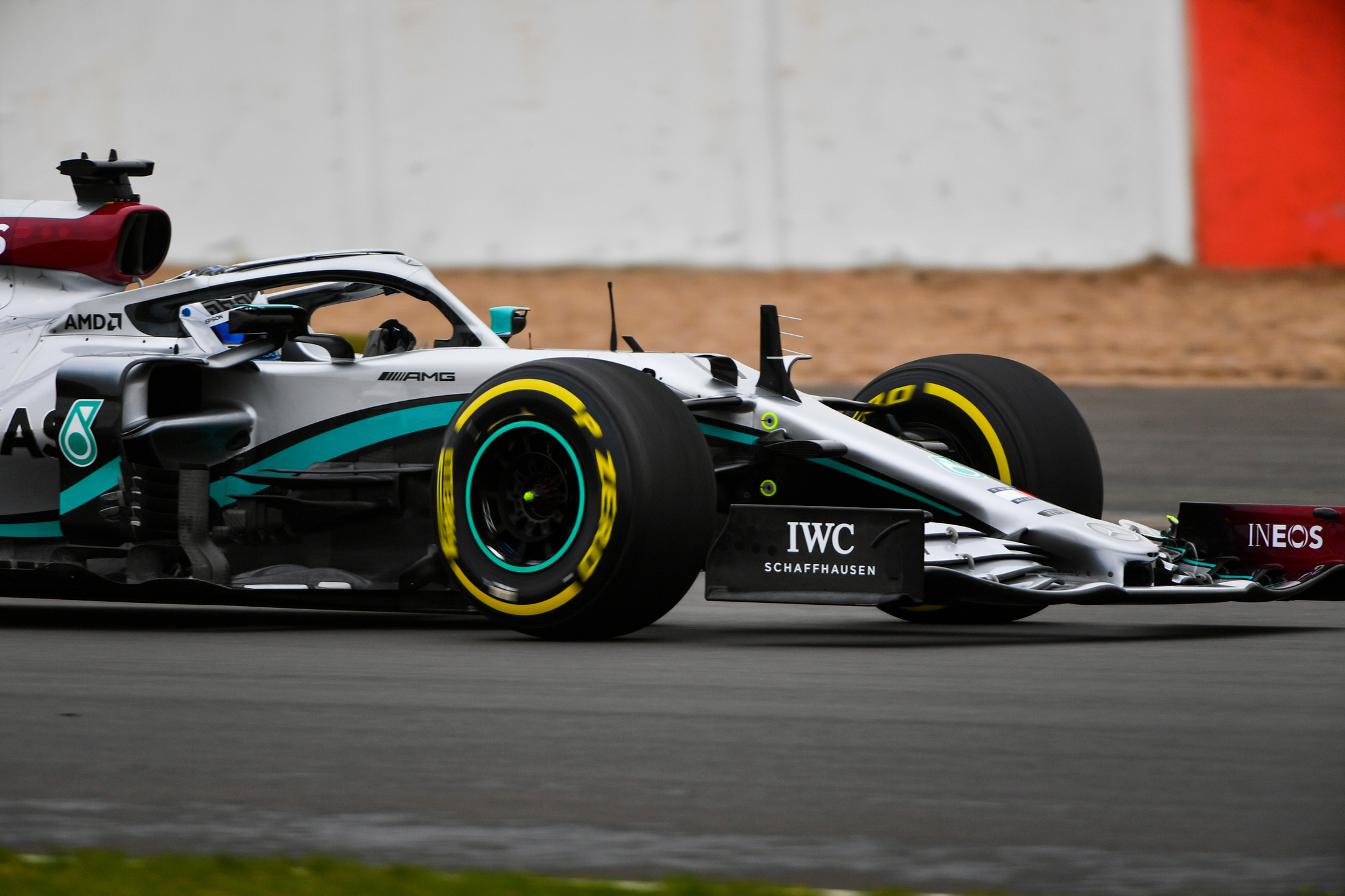 F1 - Mercedes-AMG - W11 - 2020 - front wheel - on track - Silverstone