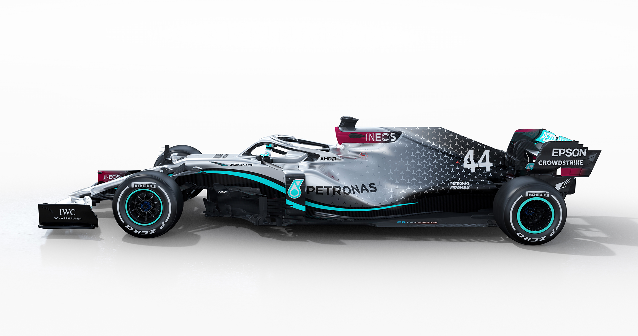 F1 - Mercedes-AMG - W11 - 2020 - side-face