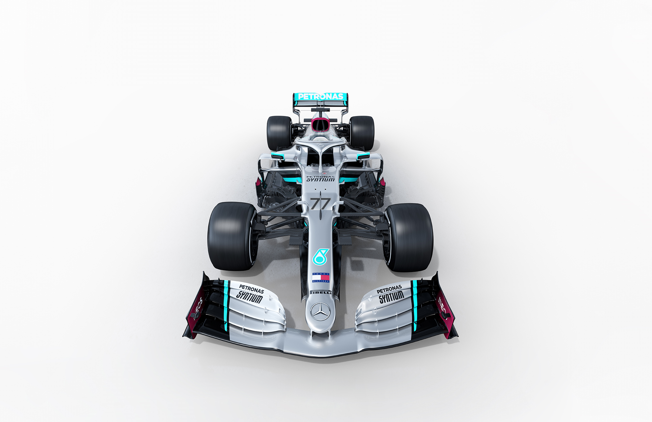 F1 - Mercedes-AMG - W11 - 2020 - top front-face