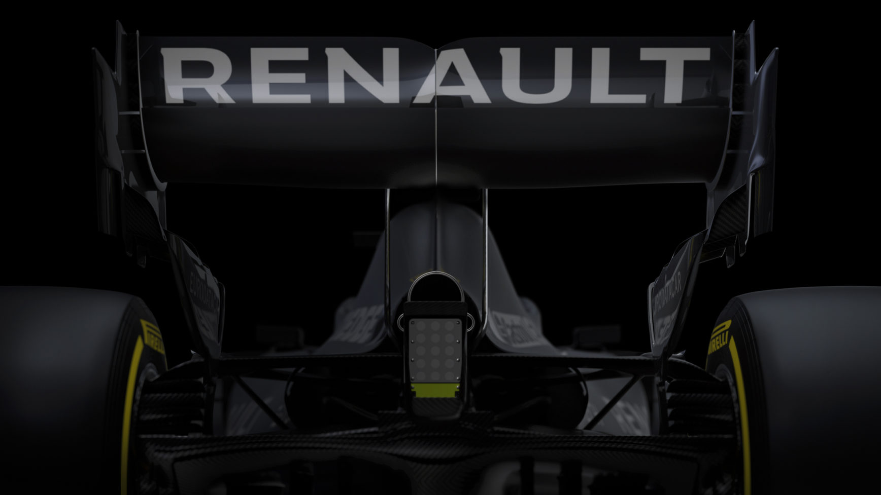 F1 - Renault F1 Team - R.S. 20 - 2020 - Testing livery - rear face