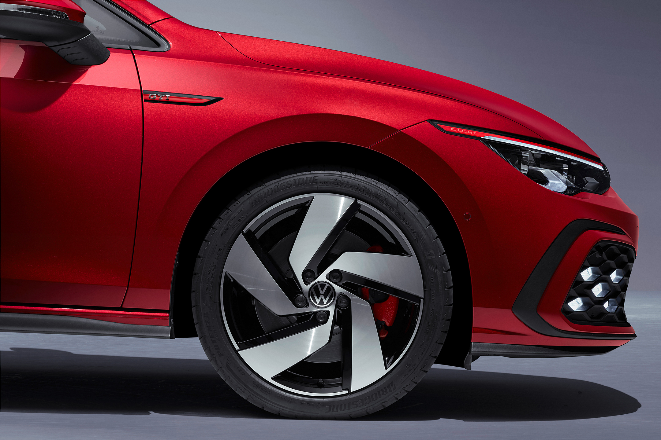 Volkswagen Golf GTI - 2020 - chassis / châssis - wheel / jante